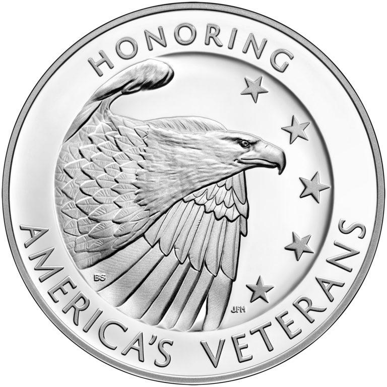 2019 American Veterans Silver Medal Obverse