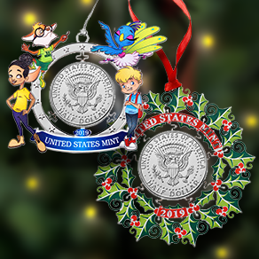 2019 Mint ornaments