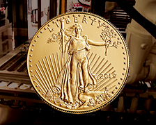 2019 American Eagle Gold uncirculated coin new homepage feature