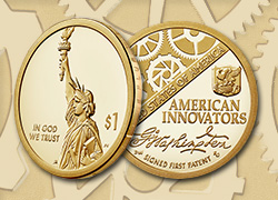 New homepage American Innovators $1 Coin Program feature