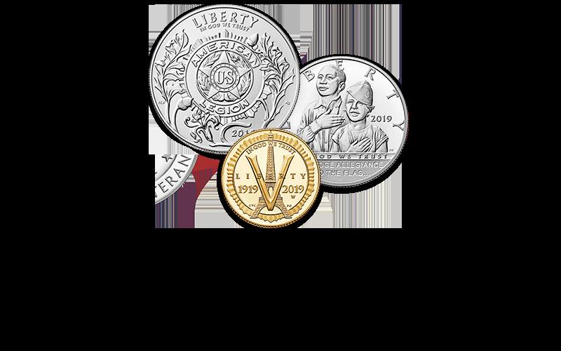 New homepage American Legion hero commemorative coin