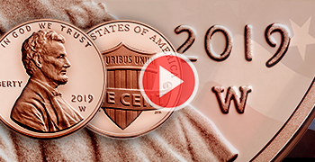 New homepage feature W penny proof 2019 video