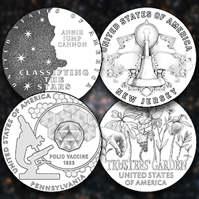2019 American Innovation $1 Coin designs