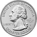 2019 America the Beautiful Quarters Obverse Uncirculated
