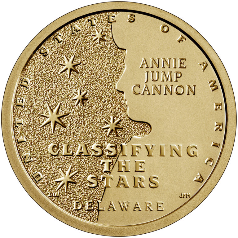 2019 American Innovation One Dollar Coin Delaware Proof Reverse