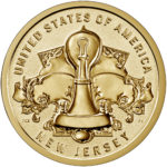 2019 American Innovation One Dollar Coin New Jersey Reverse Proof Reverse