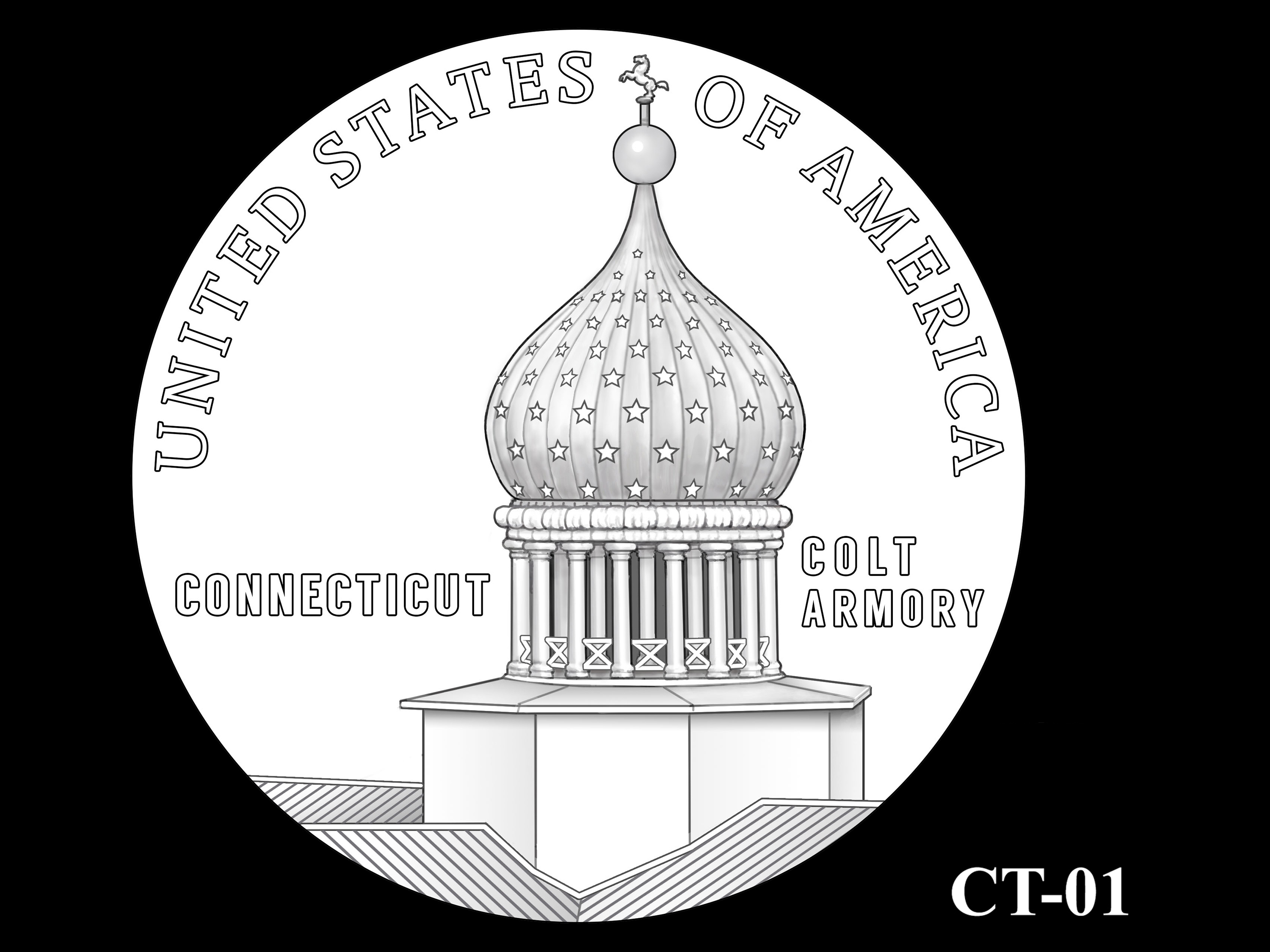 CT-01 -- 2020 American Innovation $1 Coin - Connecticut