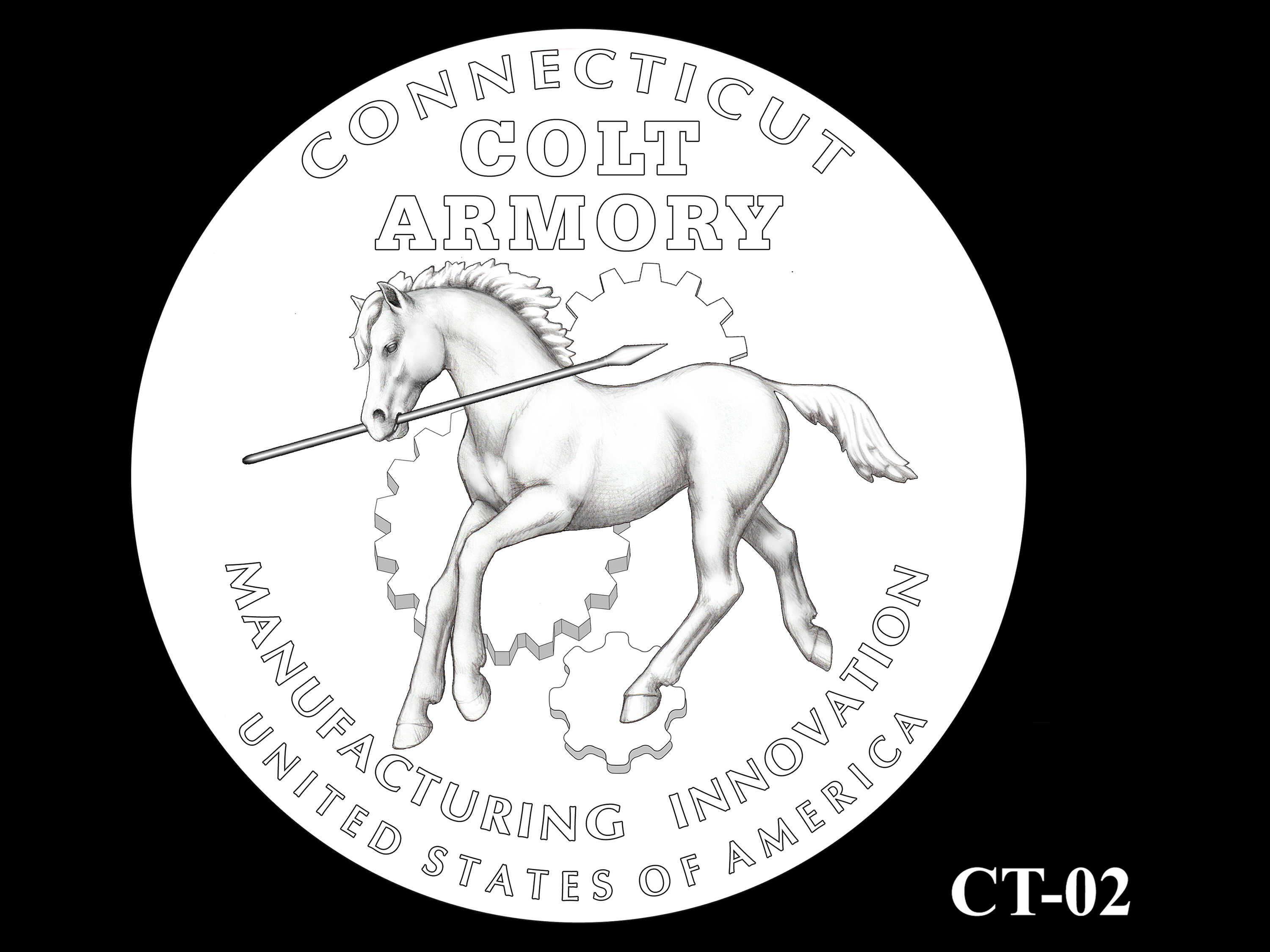 CT-02 -- 2020 American Innovation $1 Coin - Connecticut