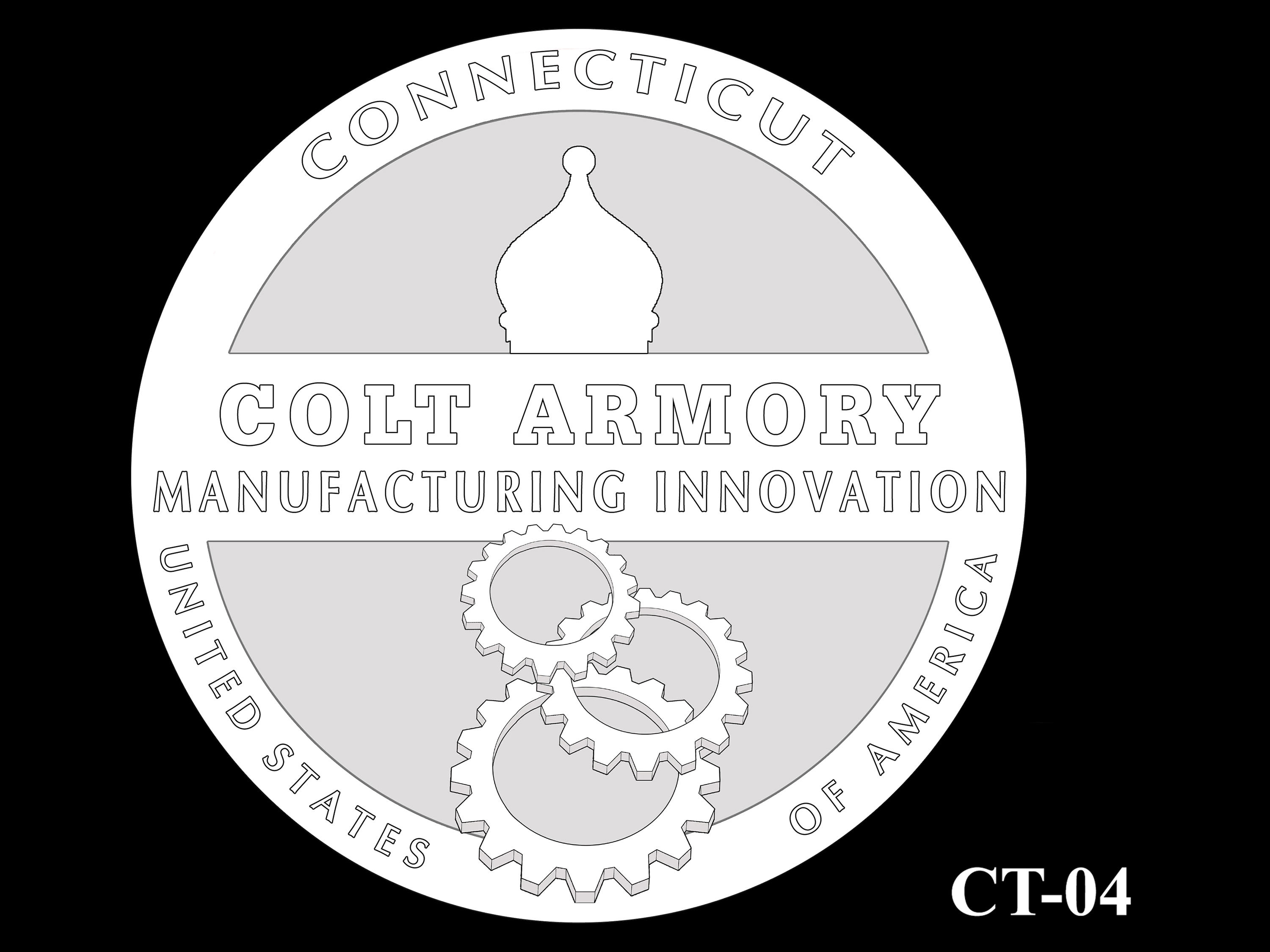 CT-04 -- 2020 American Innovation $1 Coin - Connecticut