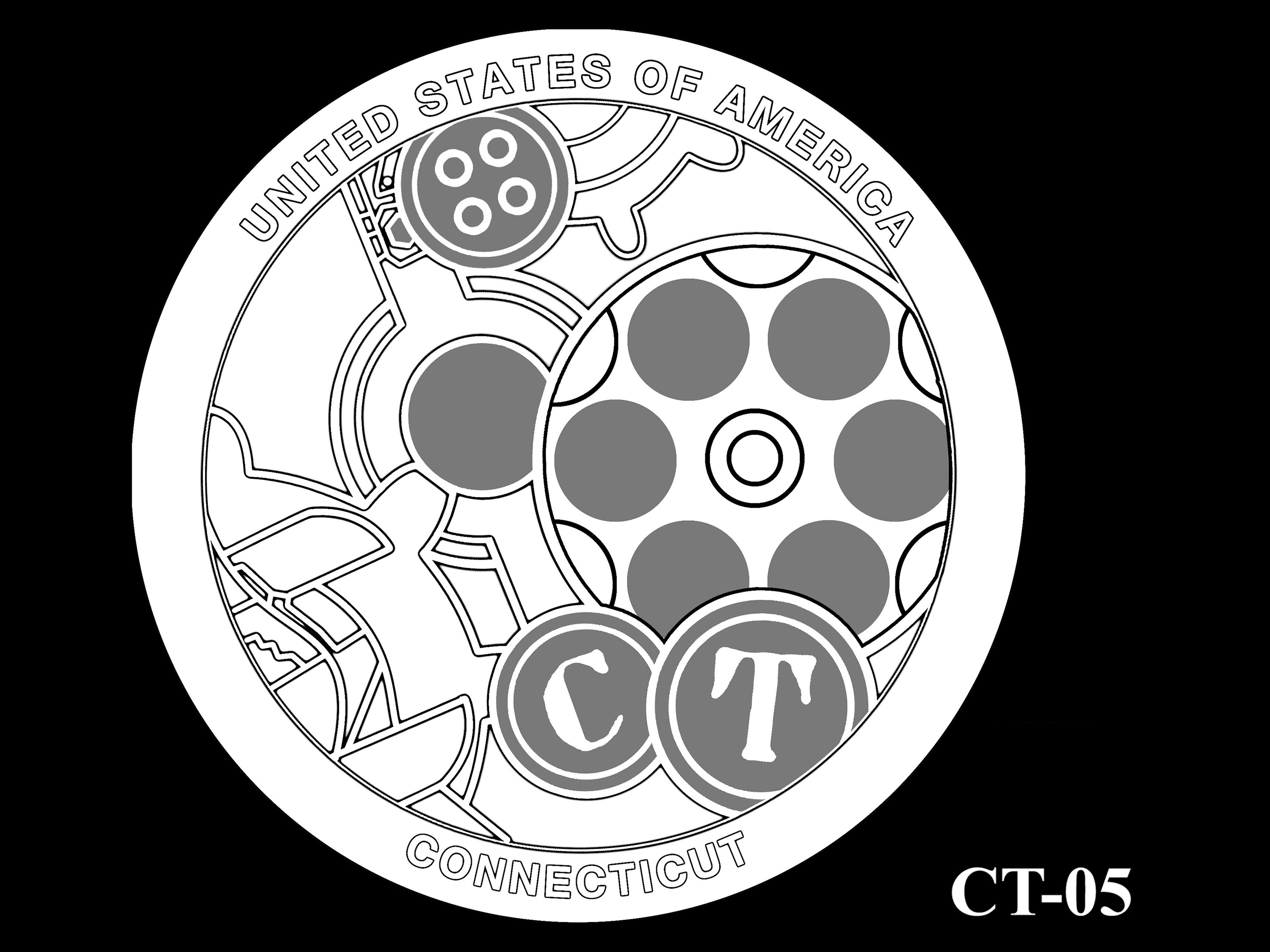 CT-05 -- 2020 American Innovation $1 Coin - Connecticut