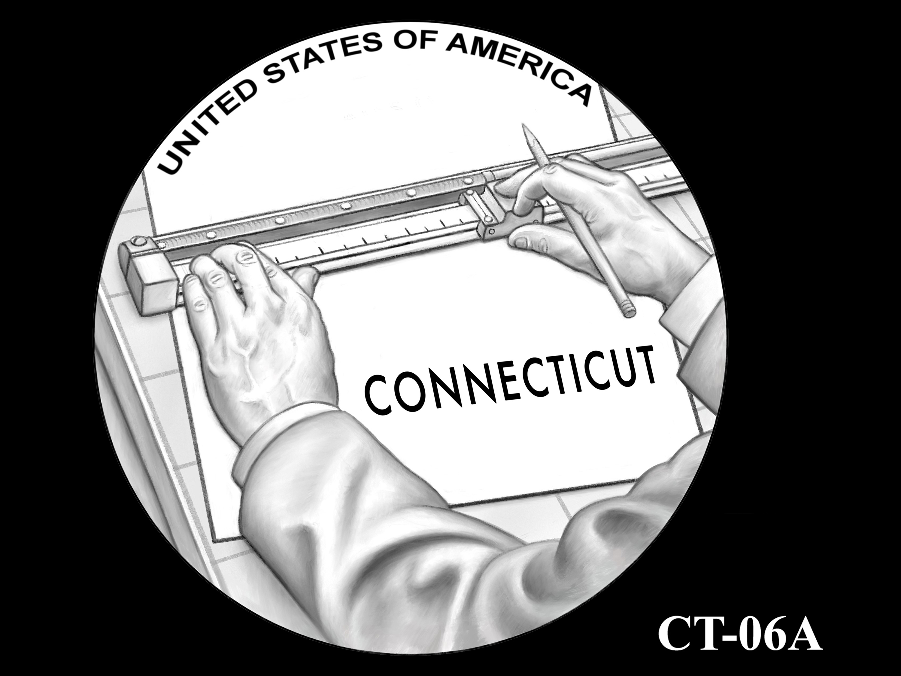 CT-06A -- 2020 American Innovation $1 Coin - Connecticut
