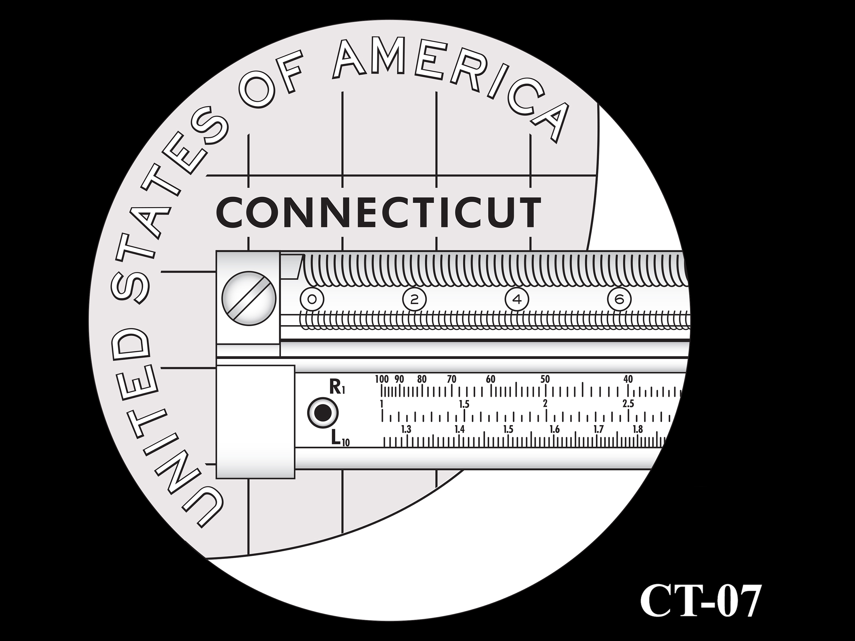 CT-07 -- 2020 American Innovation $1 Coin - Connecticut