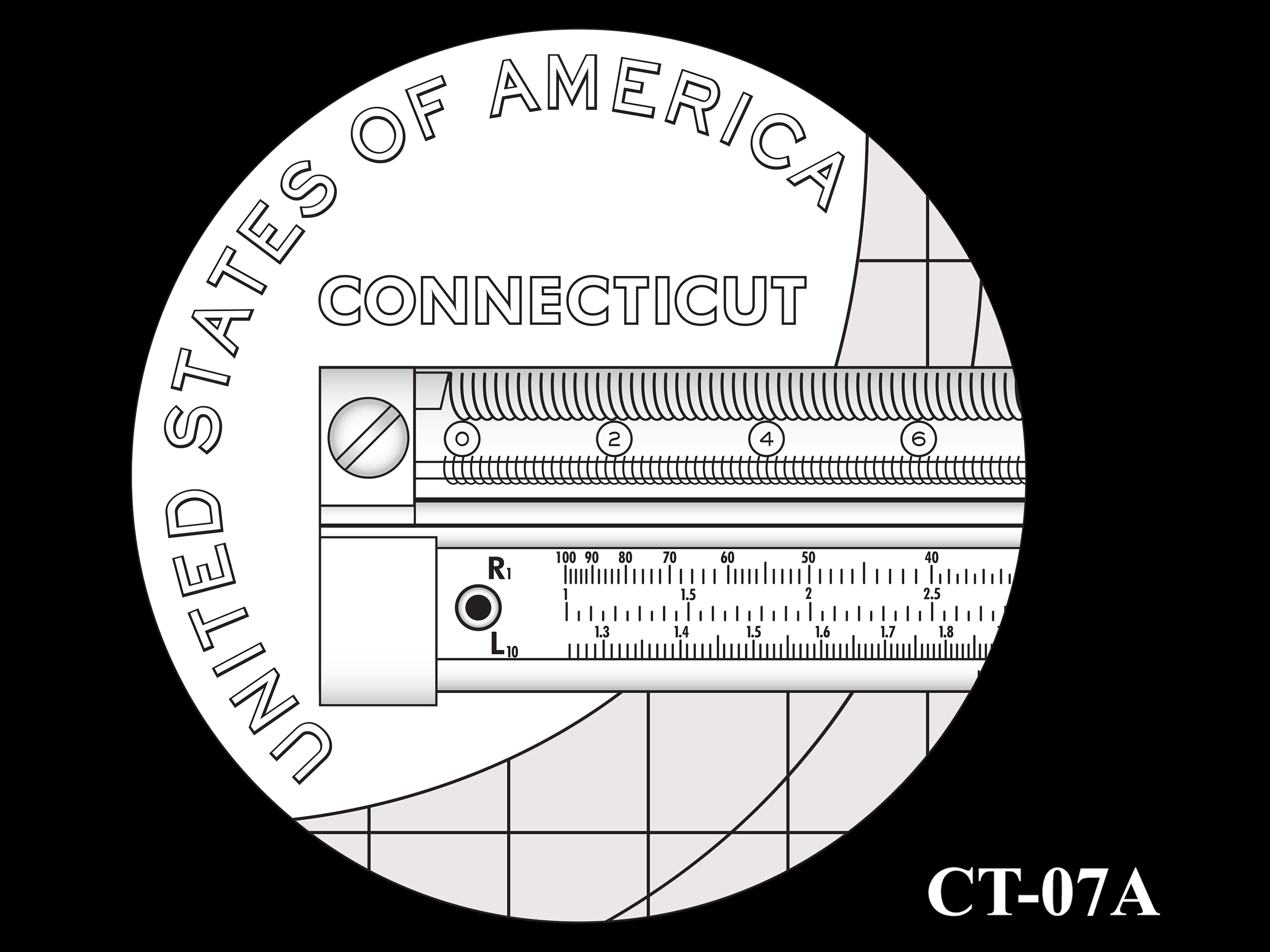 CT-07A -- 2020 American Innovation $1 Coin - Connecticut