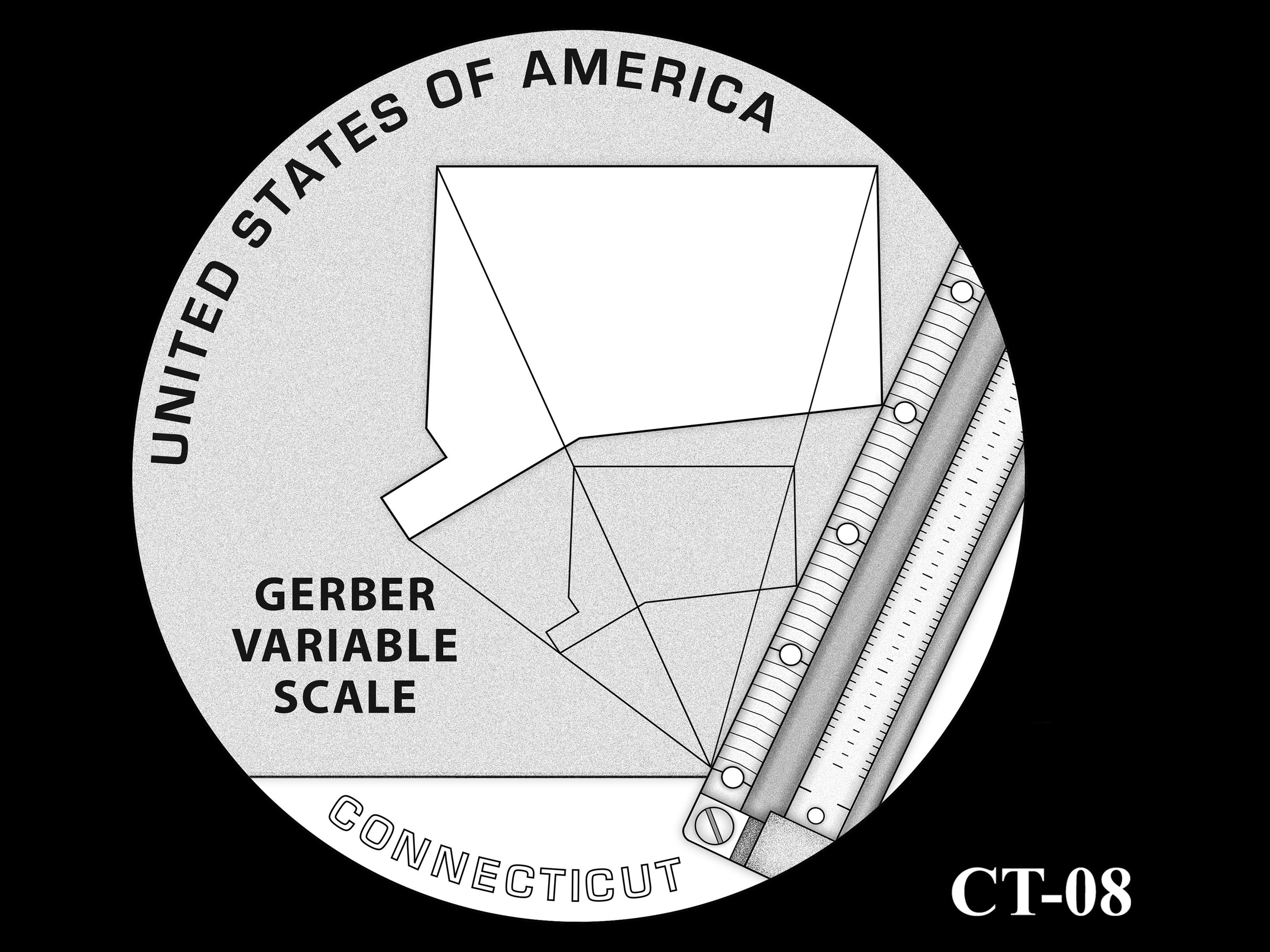 CT-08 -- 2020 American Innovation $1 Coin - Connecticut