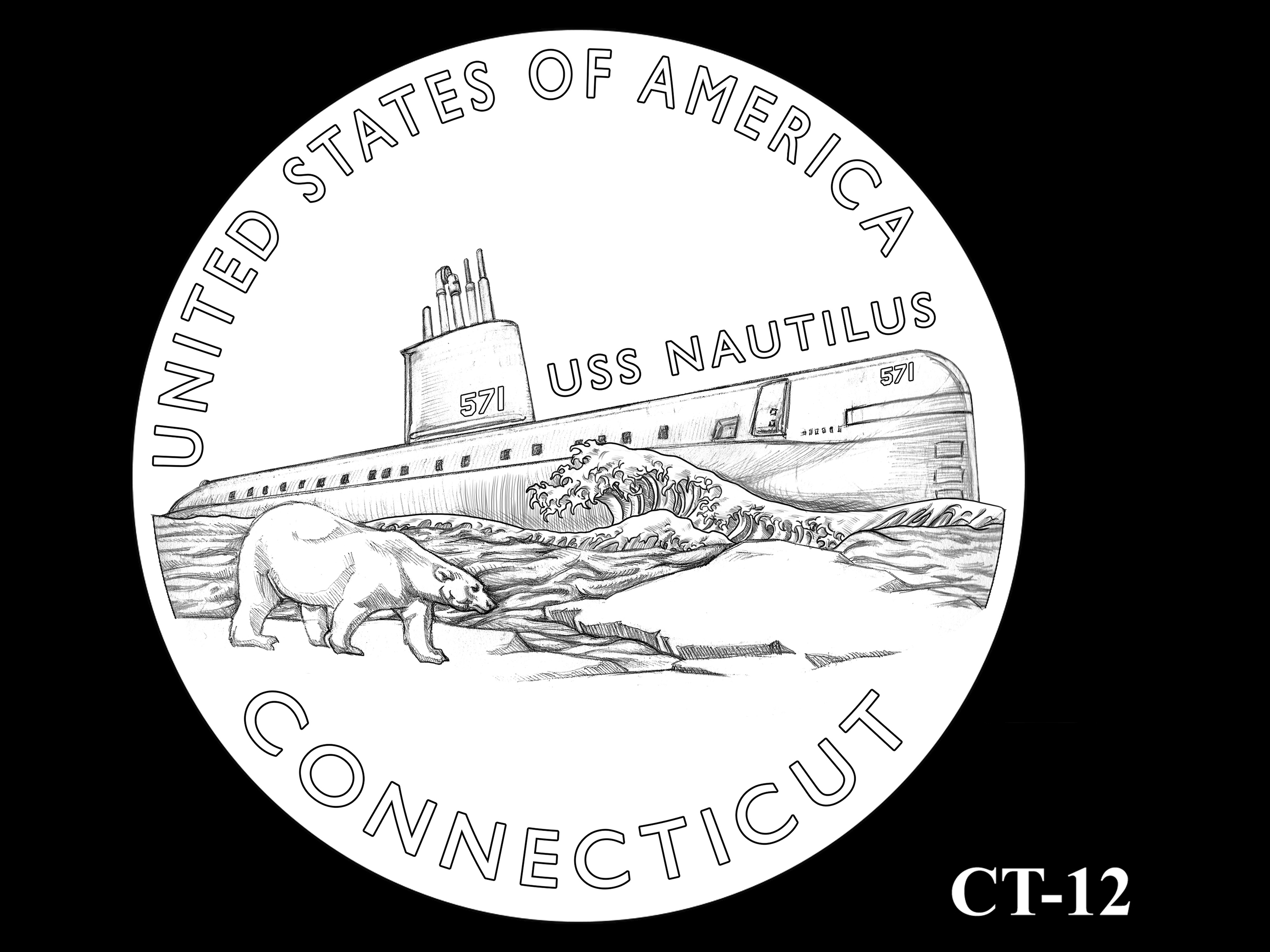 CT-12 -- 2020 American Innovation $1 Coin - Connecticut