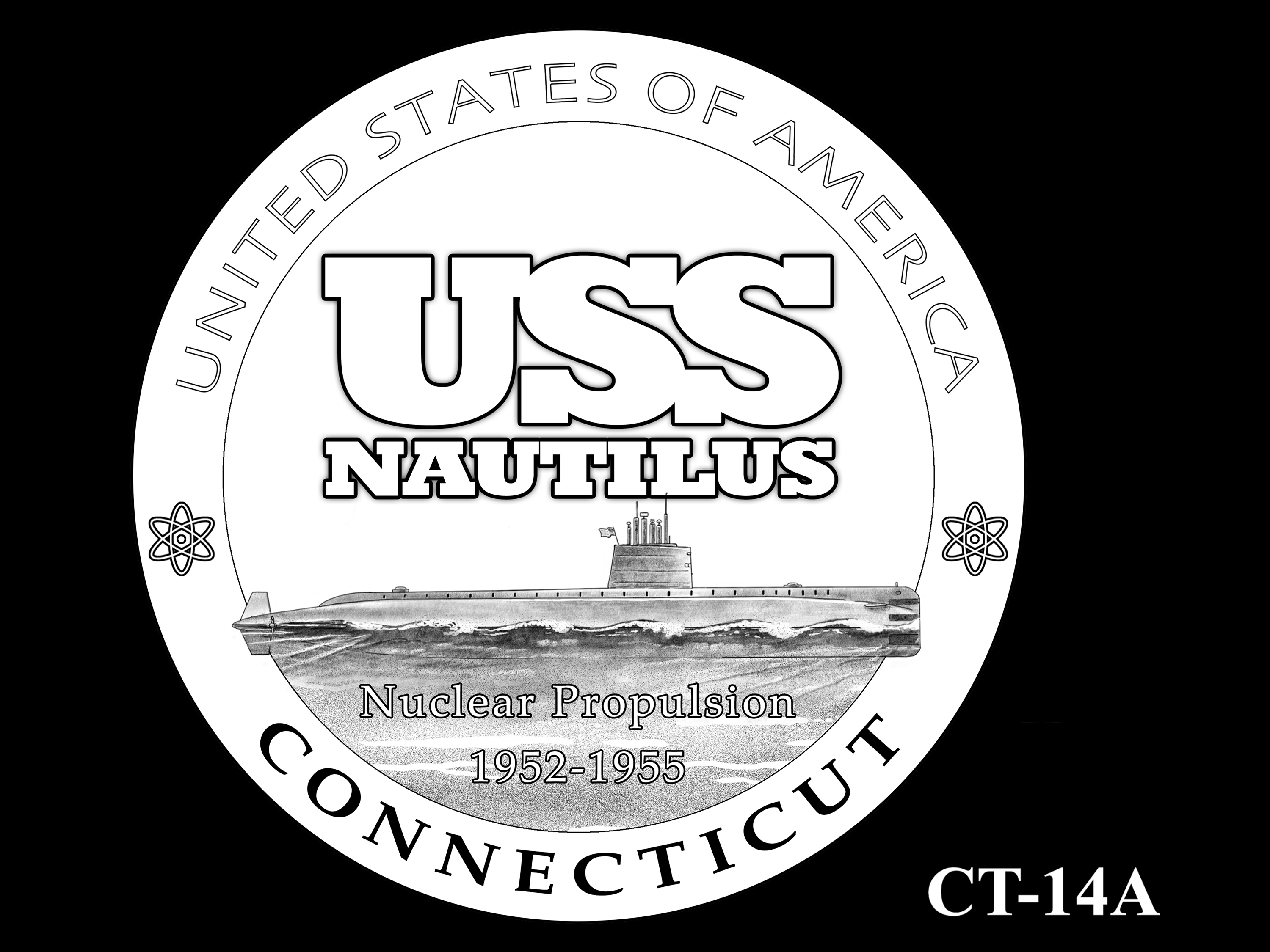 CT-14A -- 2020 American Innovation $1 Coin - Connecticut
