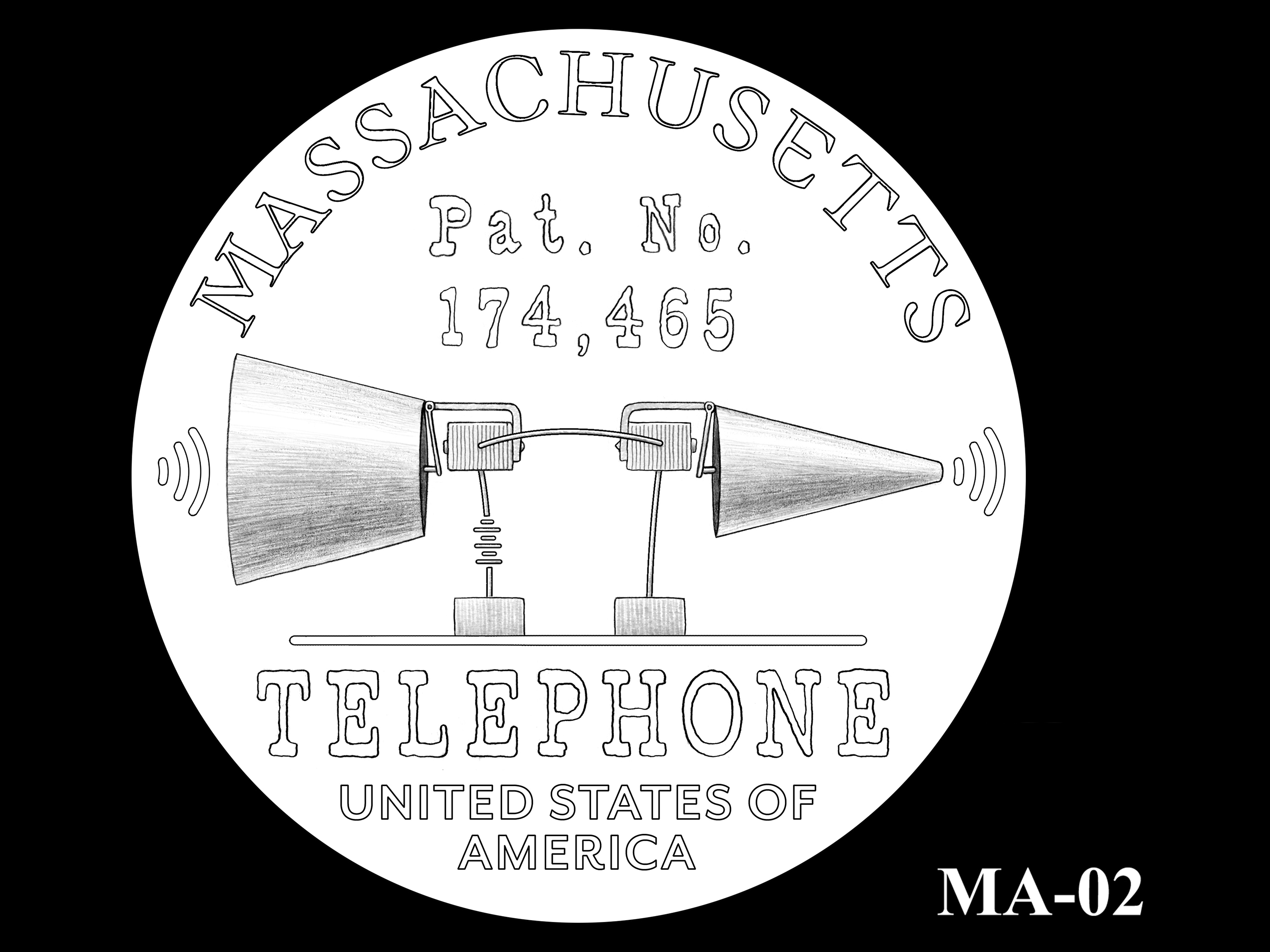 MA-02 -- 2020 American Innovation $1 Coin - Massachusetts