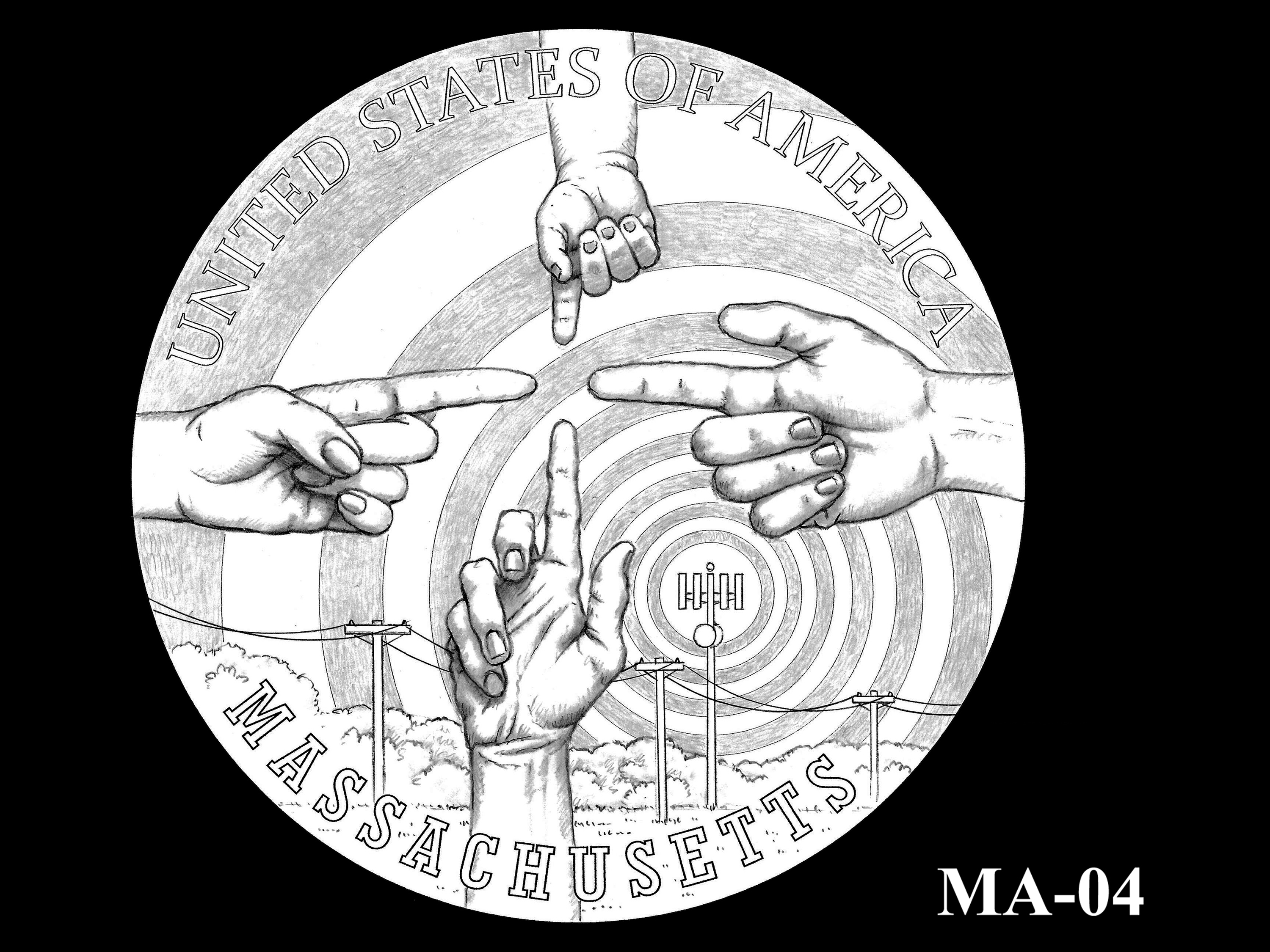 MA-04 -- 2020 American Innovation $1 Coin - Massachusetts