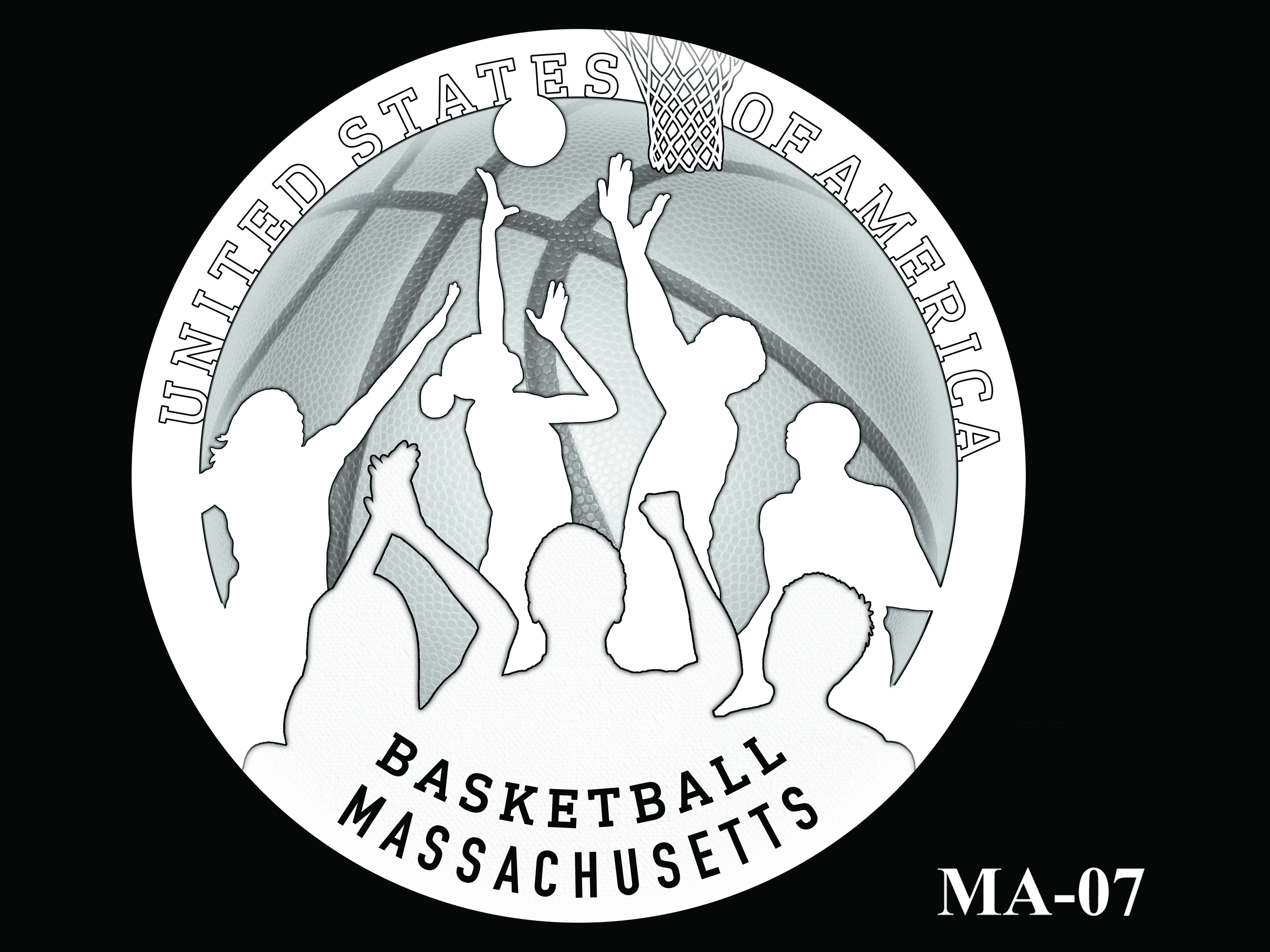 MA-07 -- 2020 American Innovation $1 Coin - Massachusetts