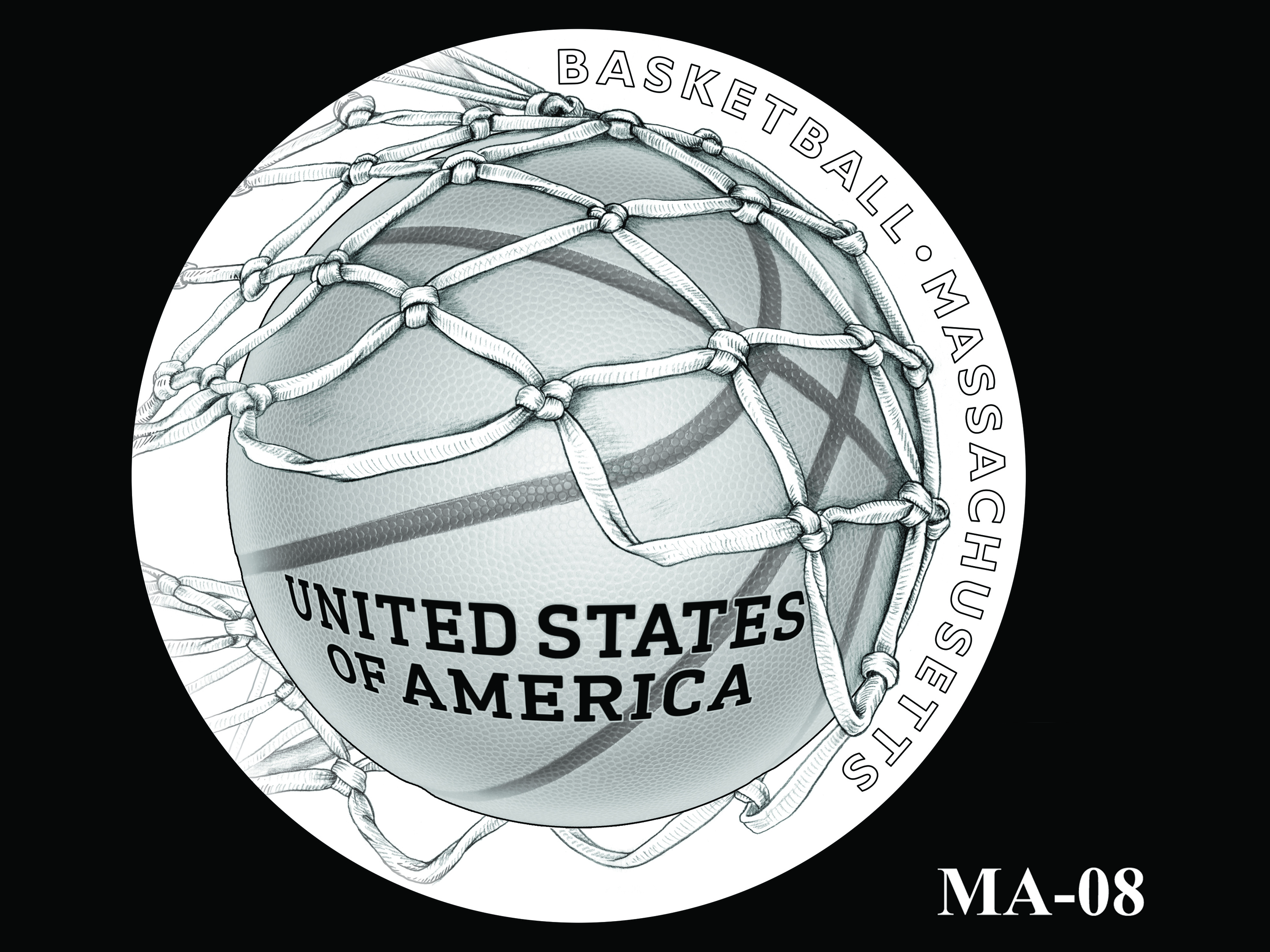 MA-08 -- 2020 American Innovation $1 Coin - Massachusetts