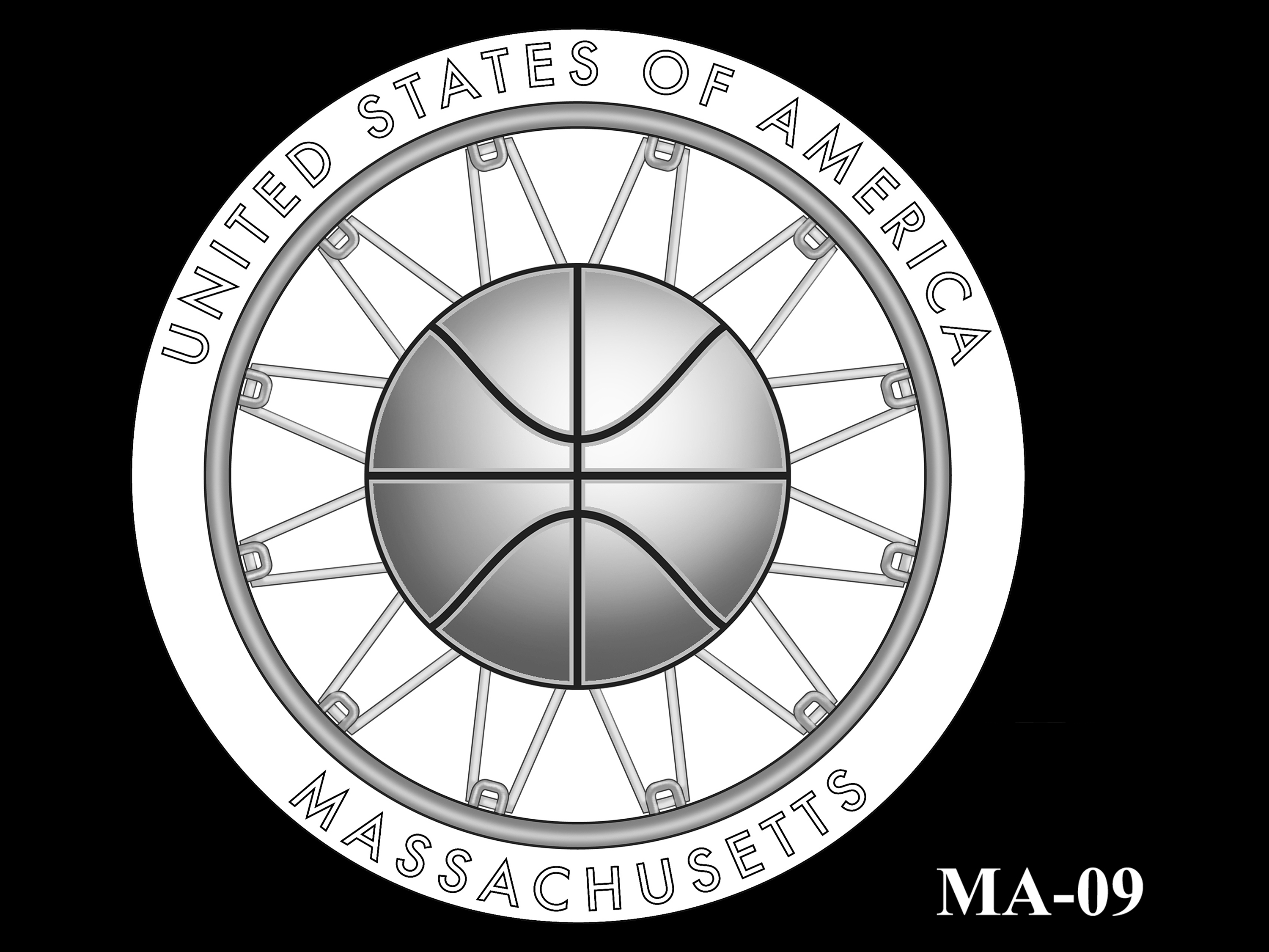 MA-09 -- 2020 American Innovation $1 Coin - Massachusetts