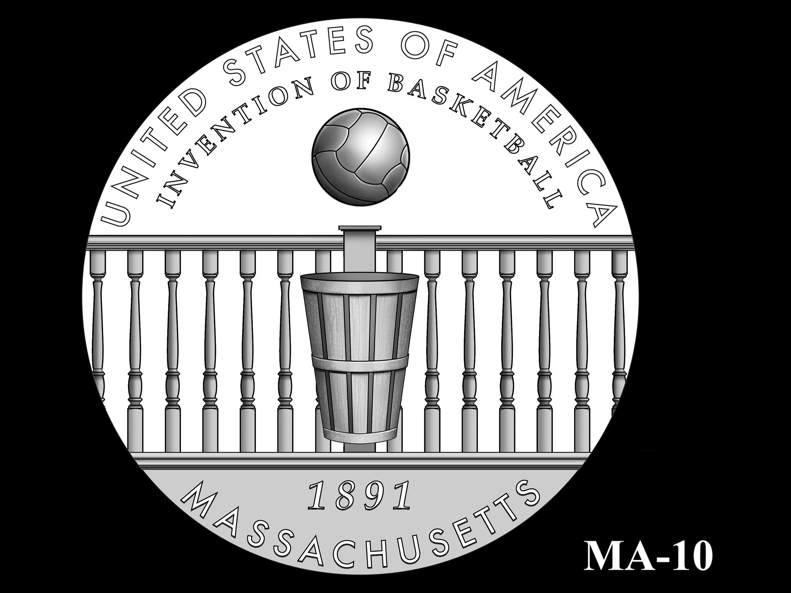 MA-10 -- 2020 American Innovation $1 Coin - Massachusetts