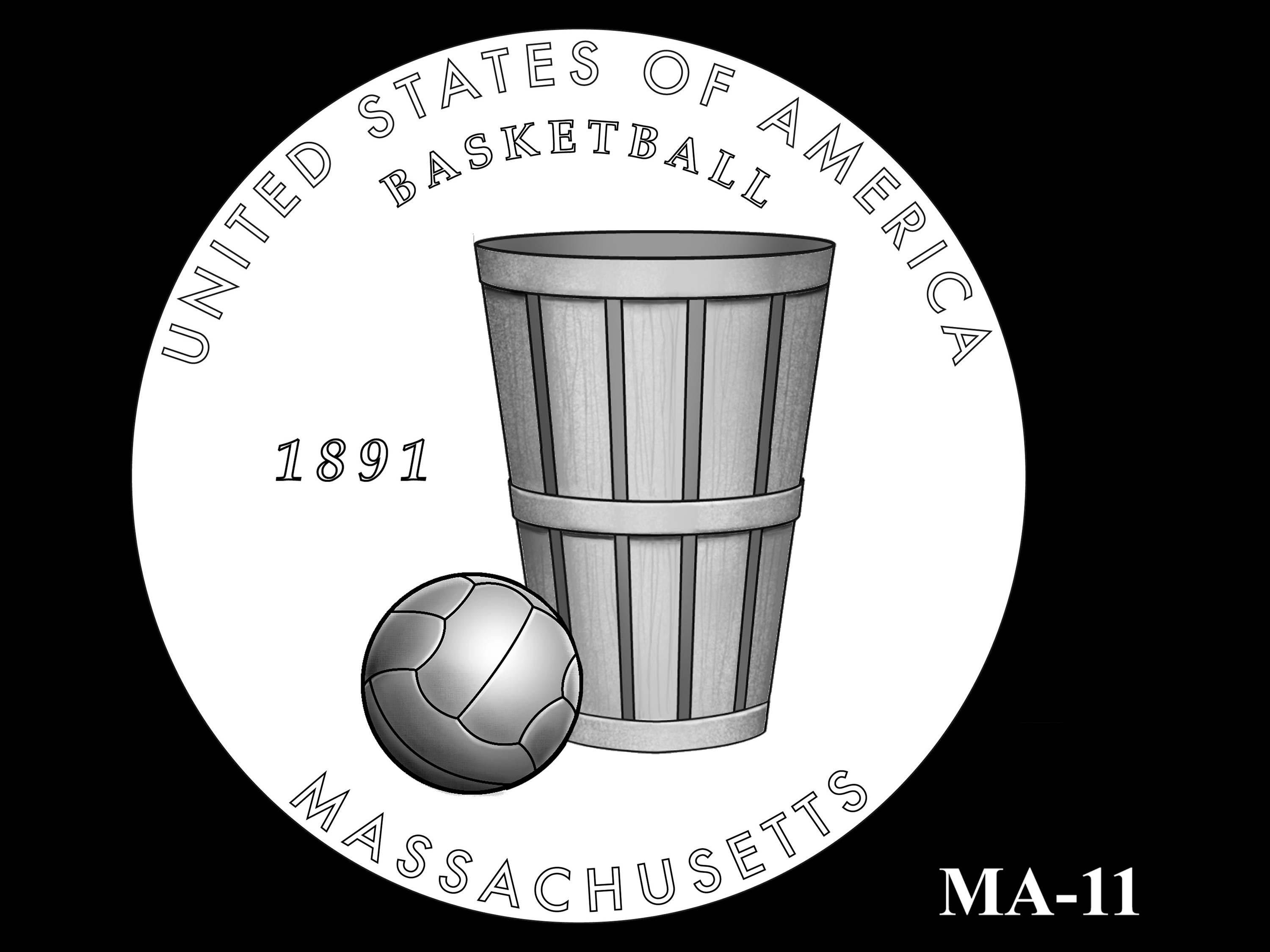 MA-11 -- 2020 American Innovation $1 Coin - Massachusetts