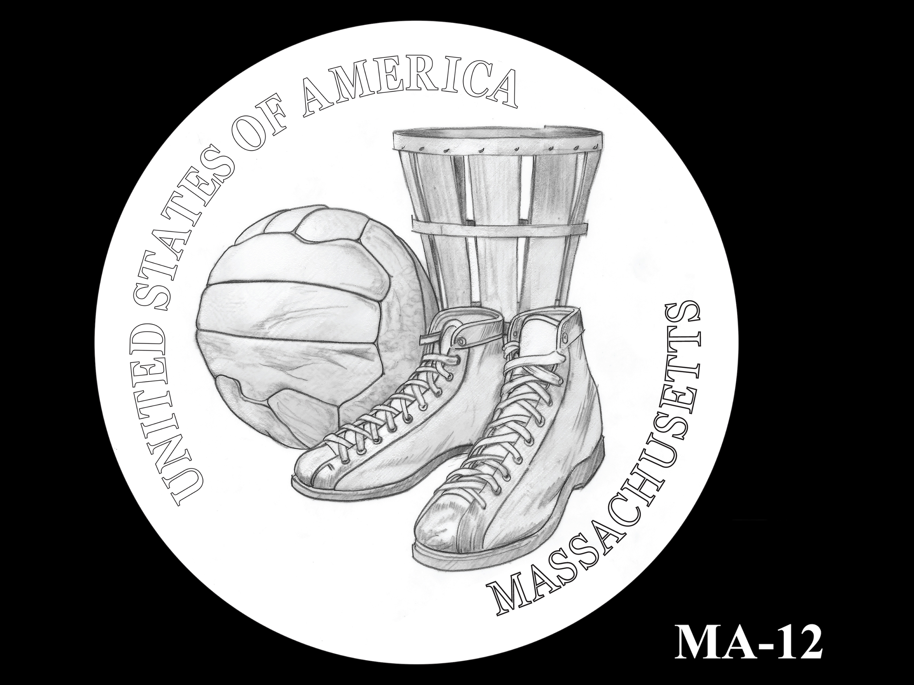 MA-12 -- 2020 American Innovation $1 Coin - Massachusetts