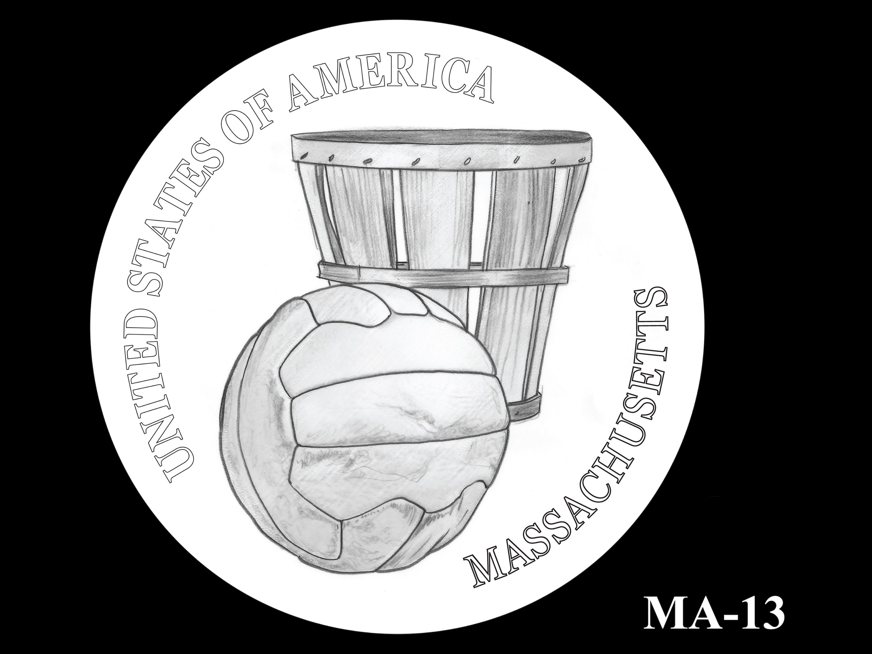 MA-13 -- 2020 American Innovation $1 Coin - Massachusetts