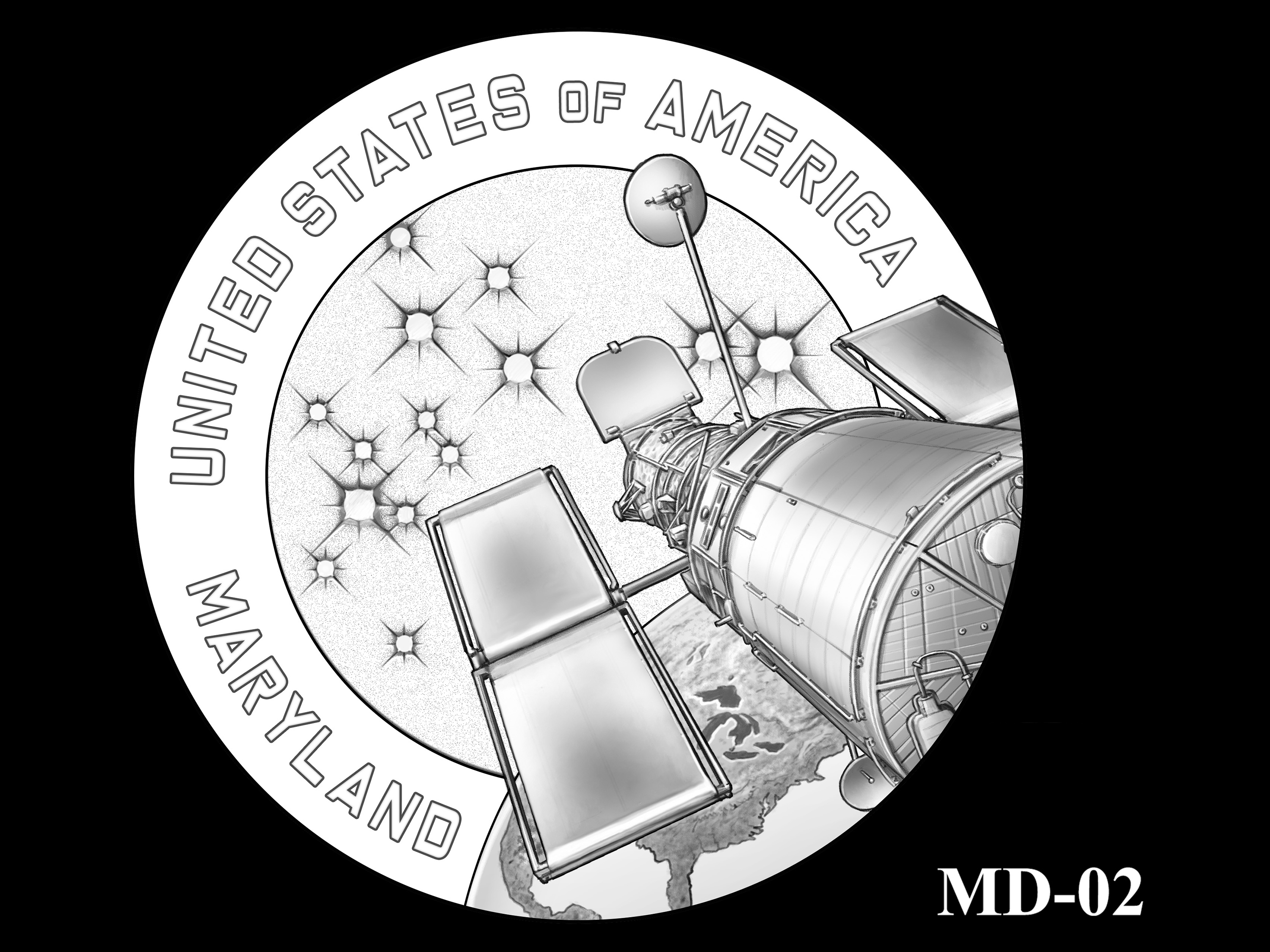 MD-02 -- 2020 American Innovation $1 Coin - Maryland