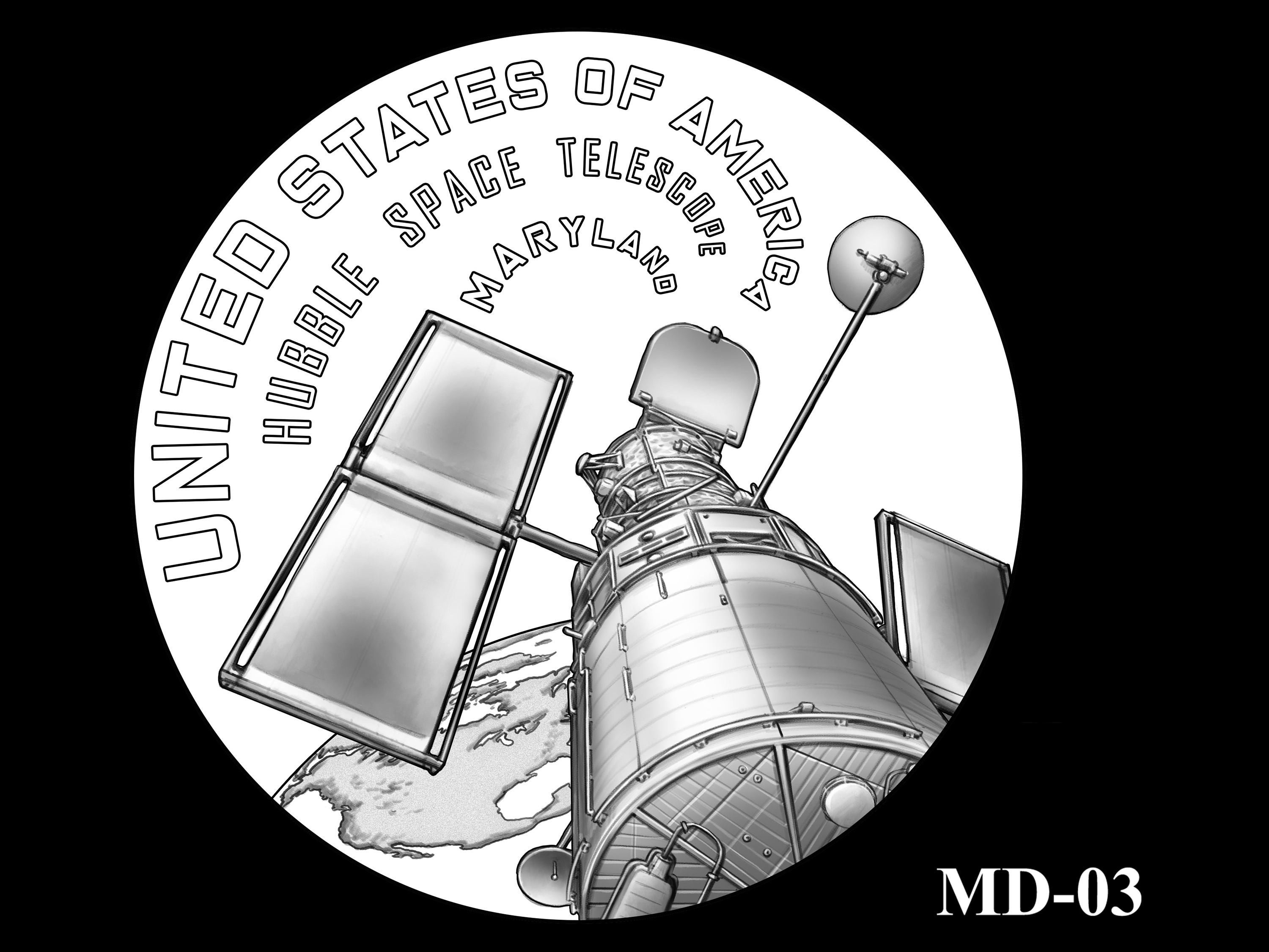 MD-03 -- 2020 American Innovation $1 Coin - Maryland