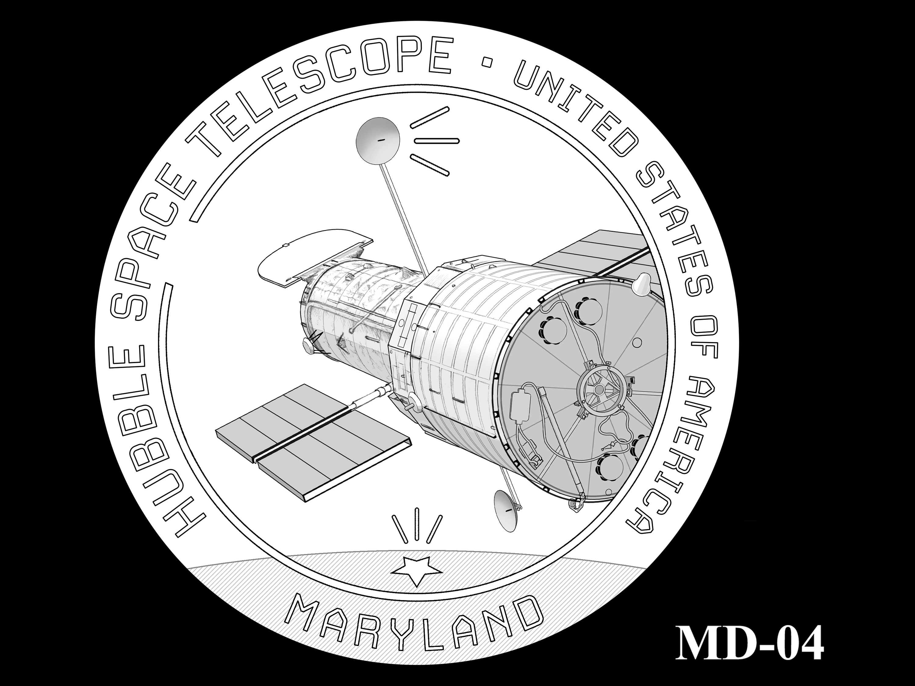 MD-04 -- 2020 American Innovation $1 Coin - Maryland