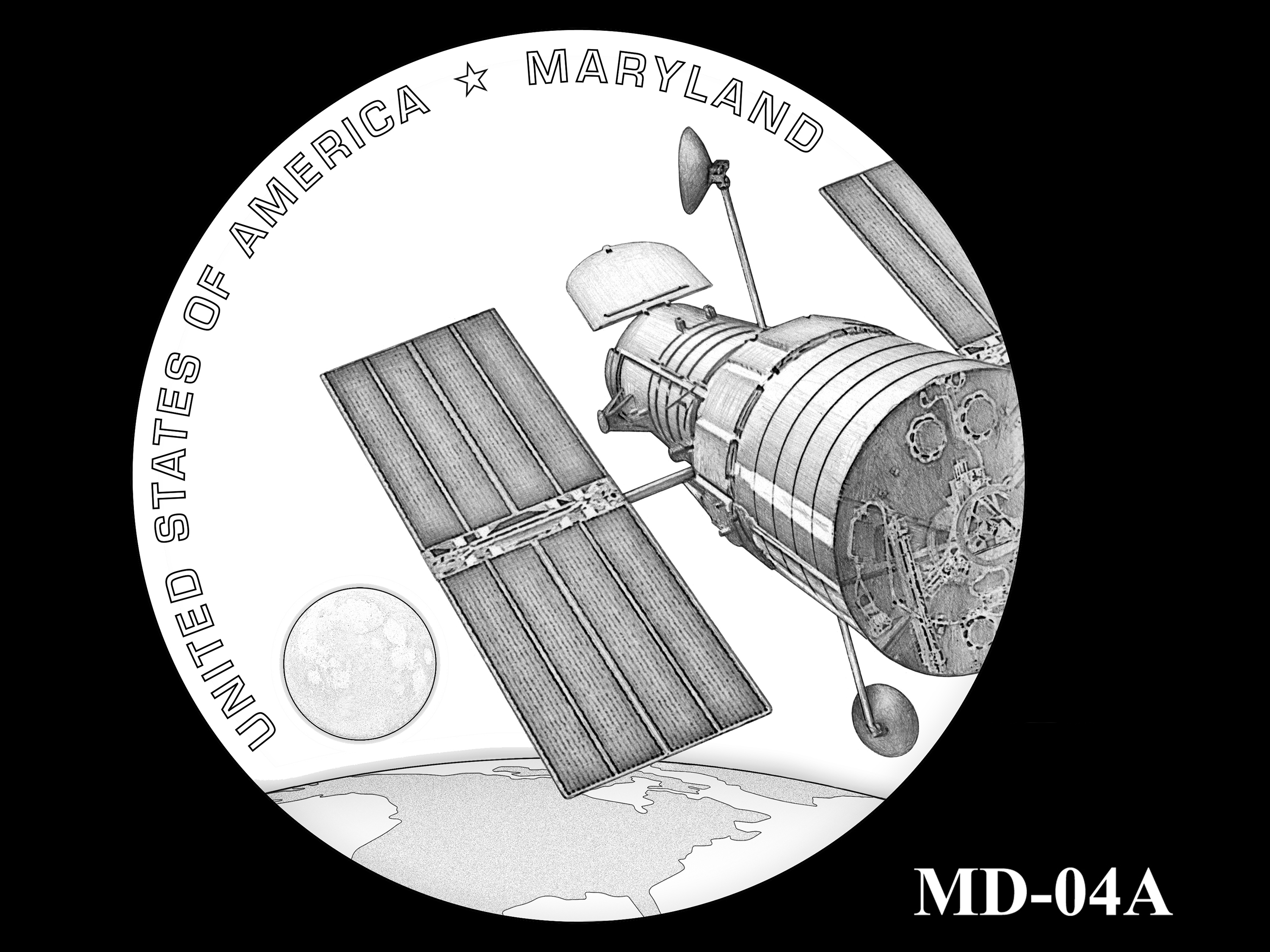 MD-04A -- 2020 American Innovation $1 Coin - Maryland