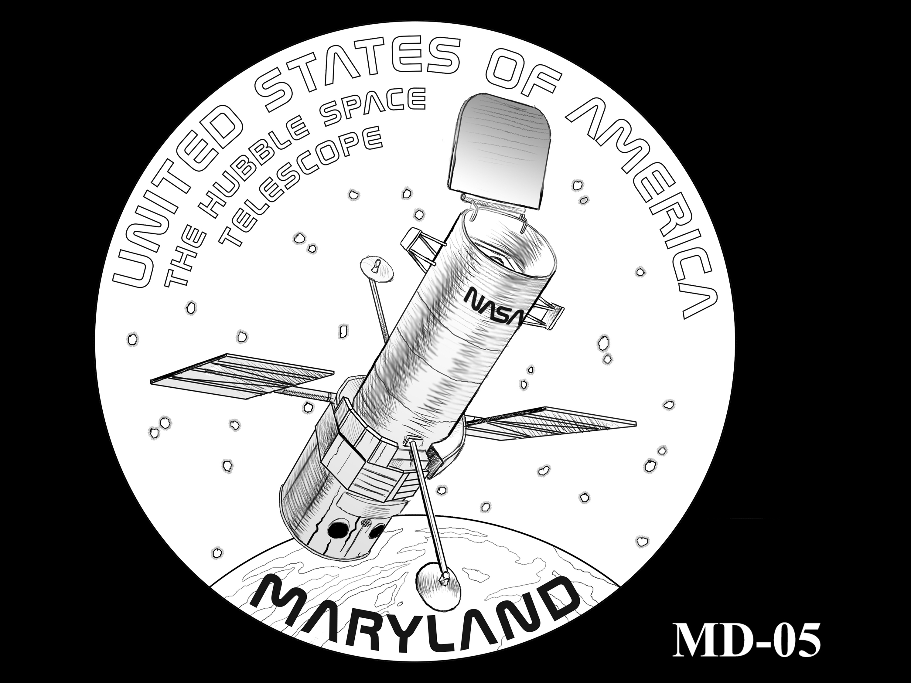 MD-05 -- 2020 American Innovation $1 Coin - Maryland
