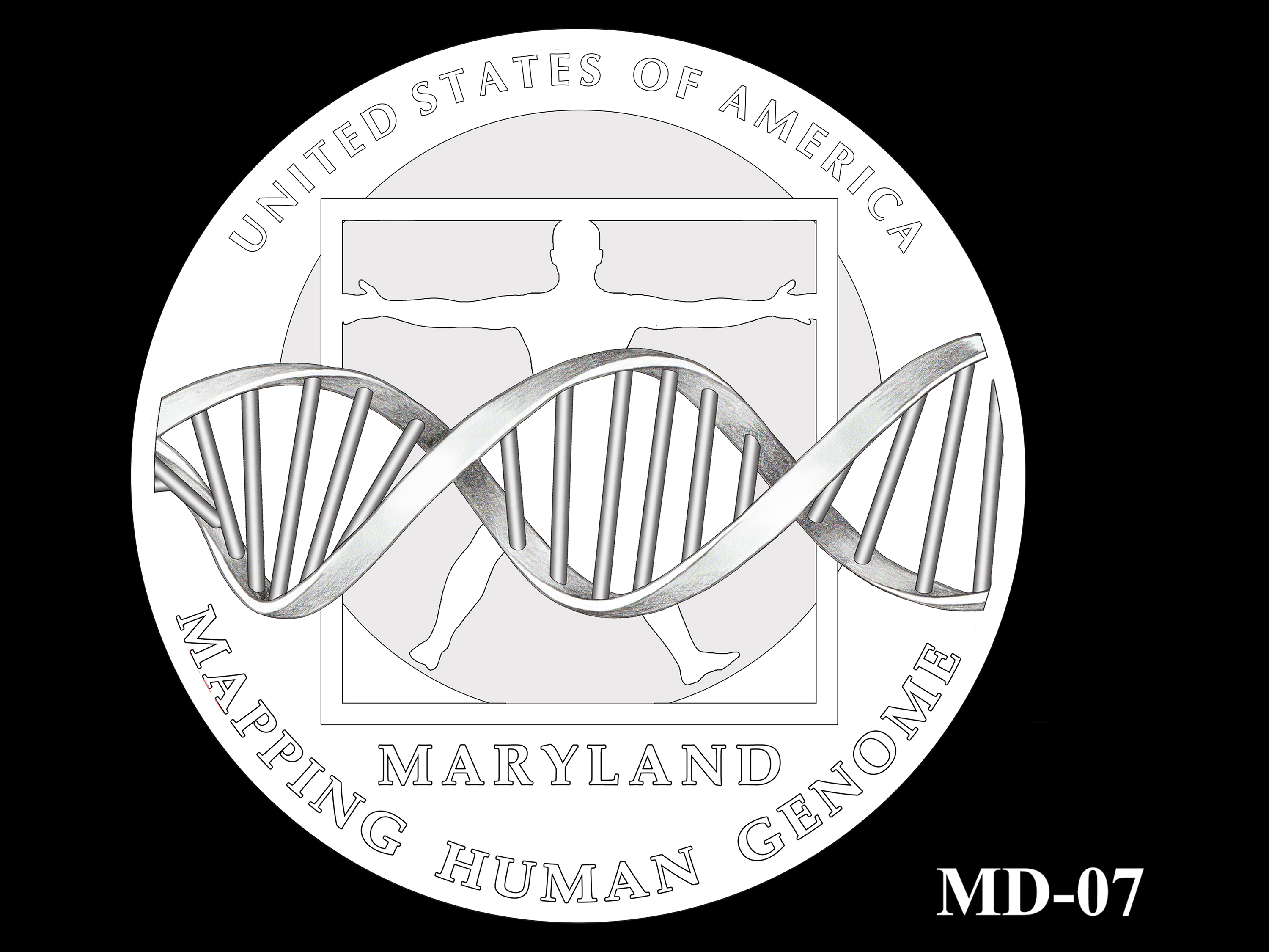 MD-07 -- 2020 American Innovation $1 Coin - Maryland