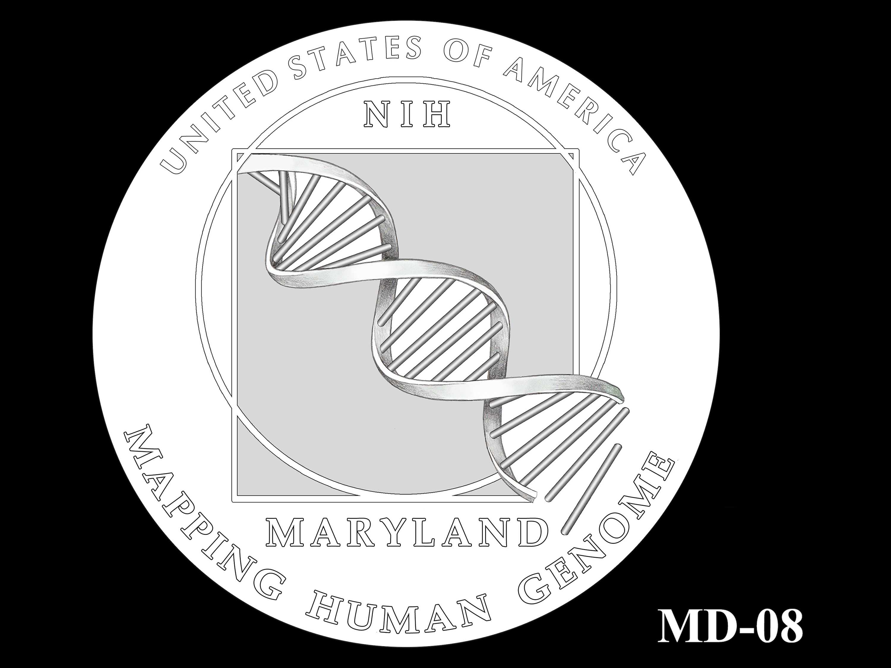 MD-08 -- 2020 American Innovation $1 Coin - Maryland