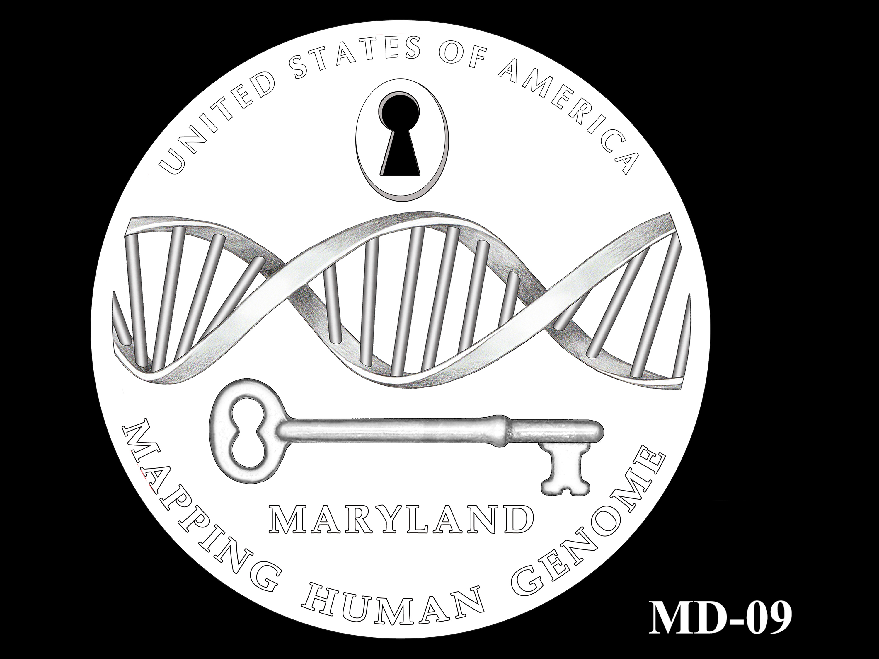 MD-09 -- 2020 American Innovation $1 Coin - Maryland