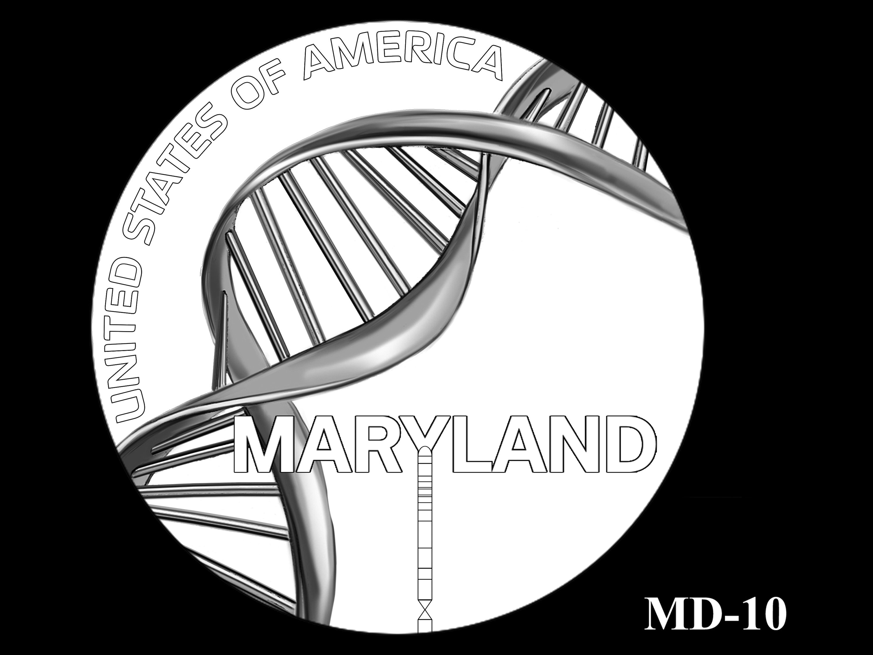 MD-10 -- 2020 American Innovation $1 Coin - Maryland