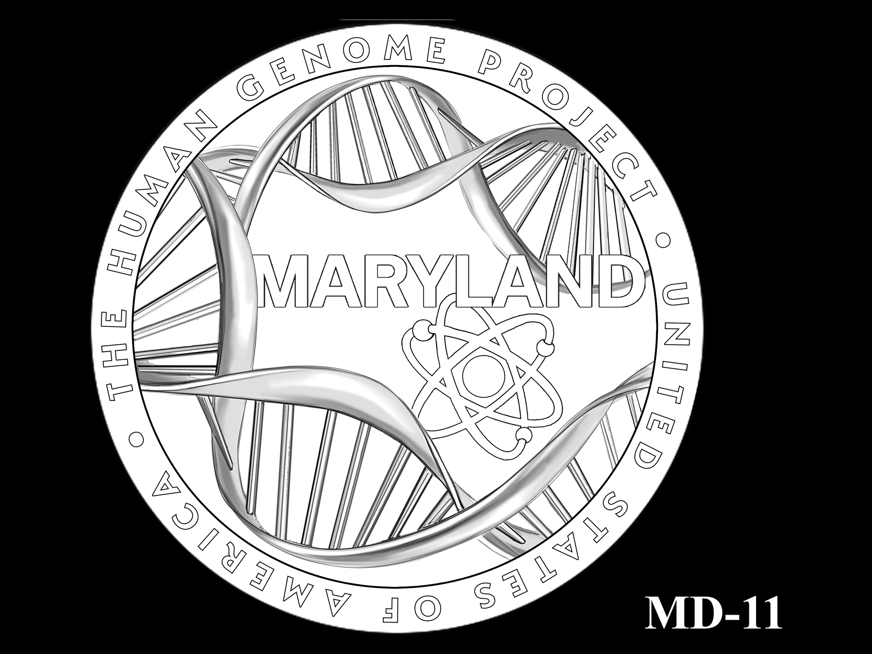MD-11 -- 2020 American Innovation $1 Coin - Maryland