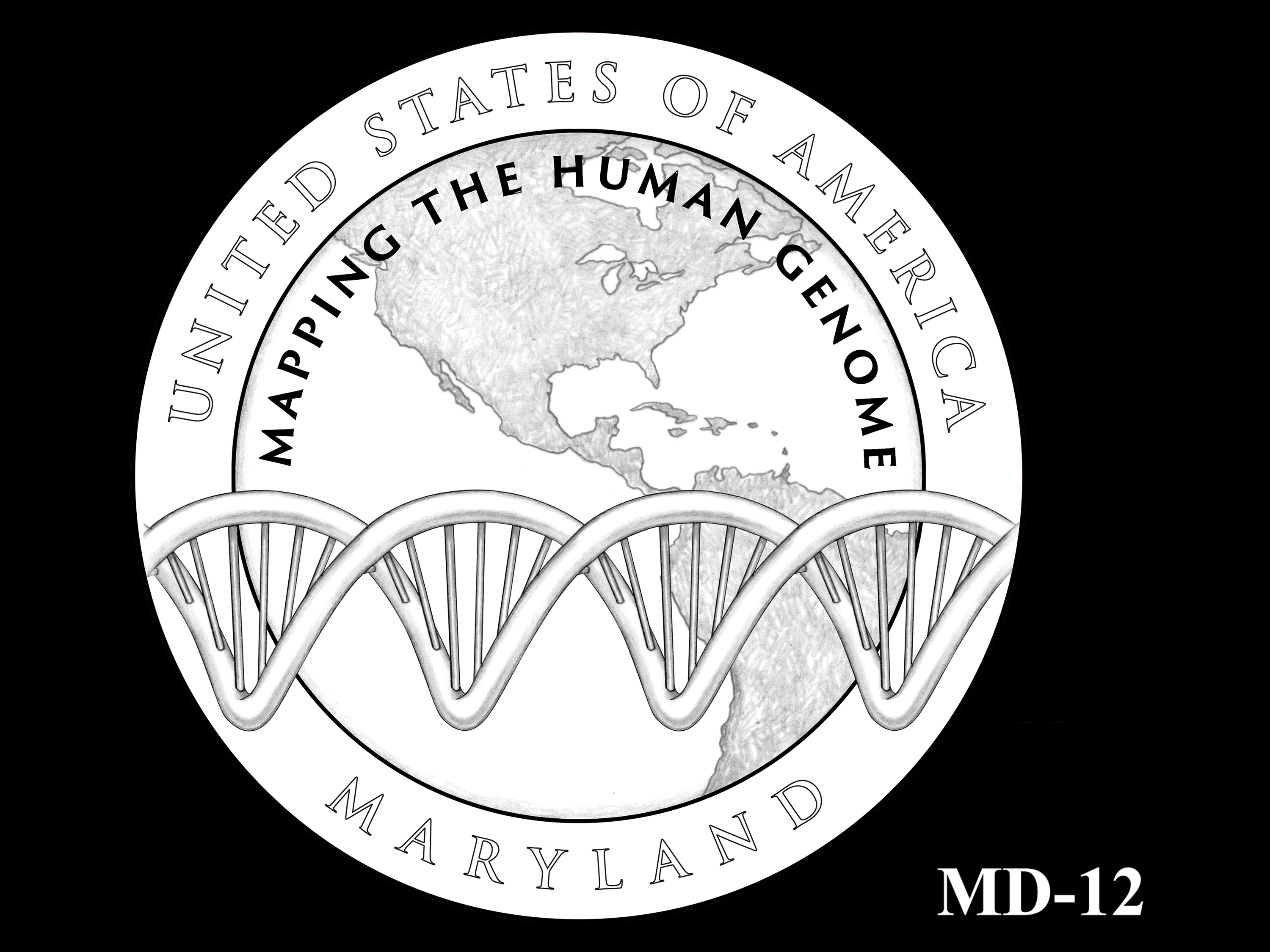 MD-12 -- 2020 American Innovation $1 Coin - Maryland