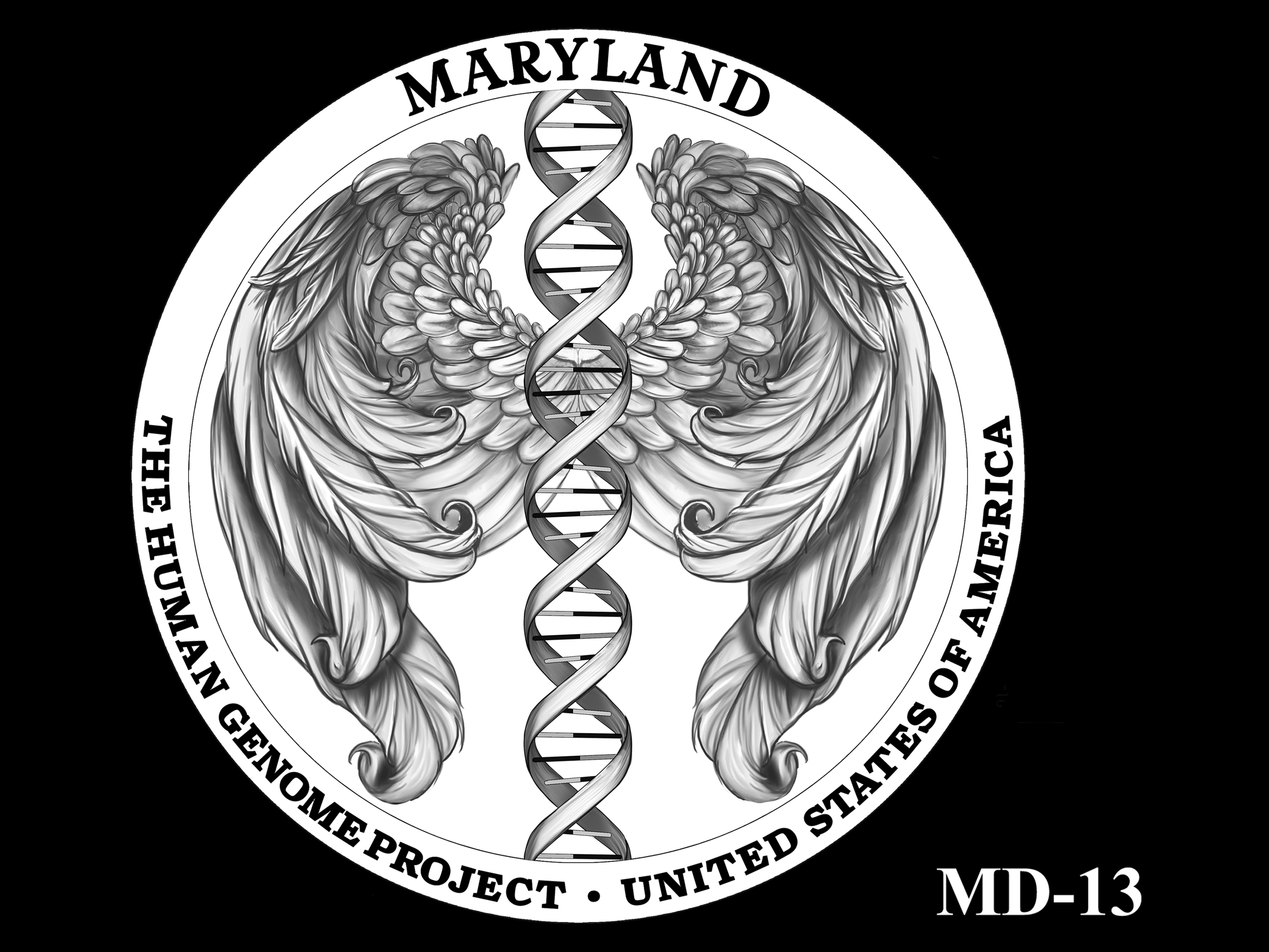 MD-13 -- 2020 American Innovation $1 Coin - Maryland