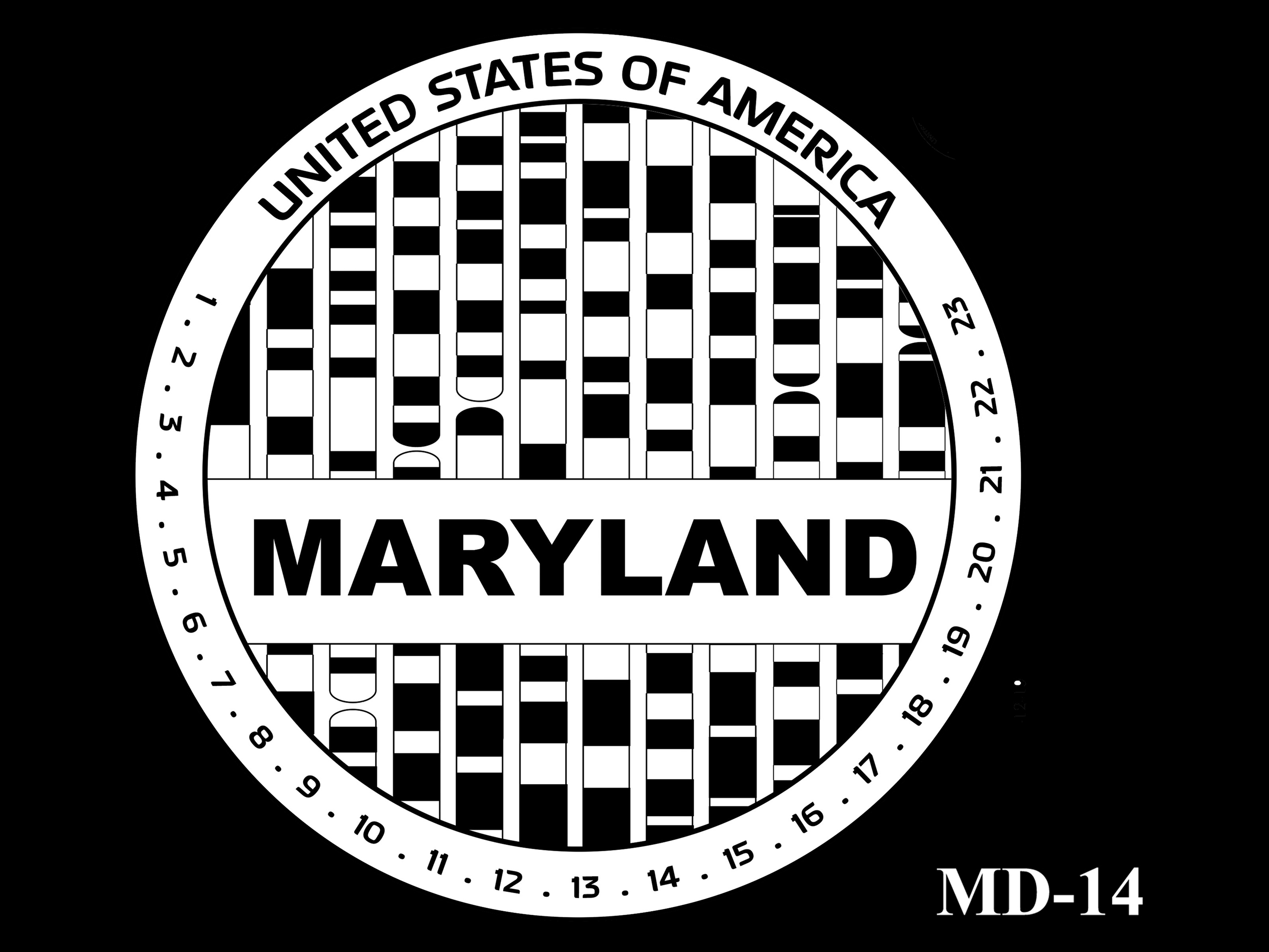 MD-14 -- 2020 American Innovation $1 Coin - Maryland