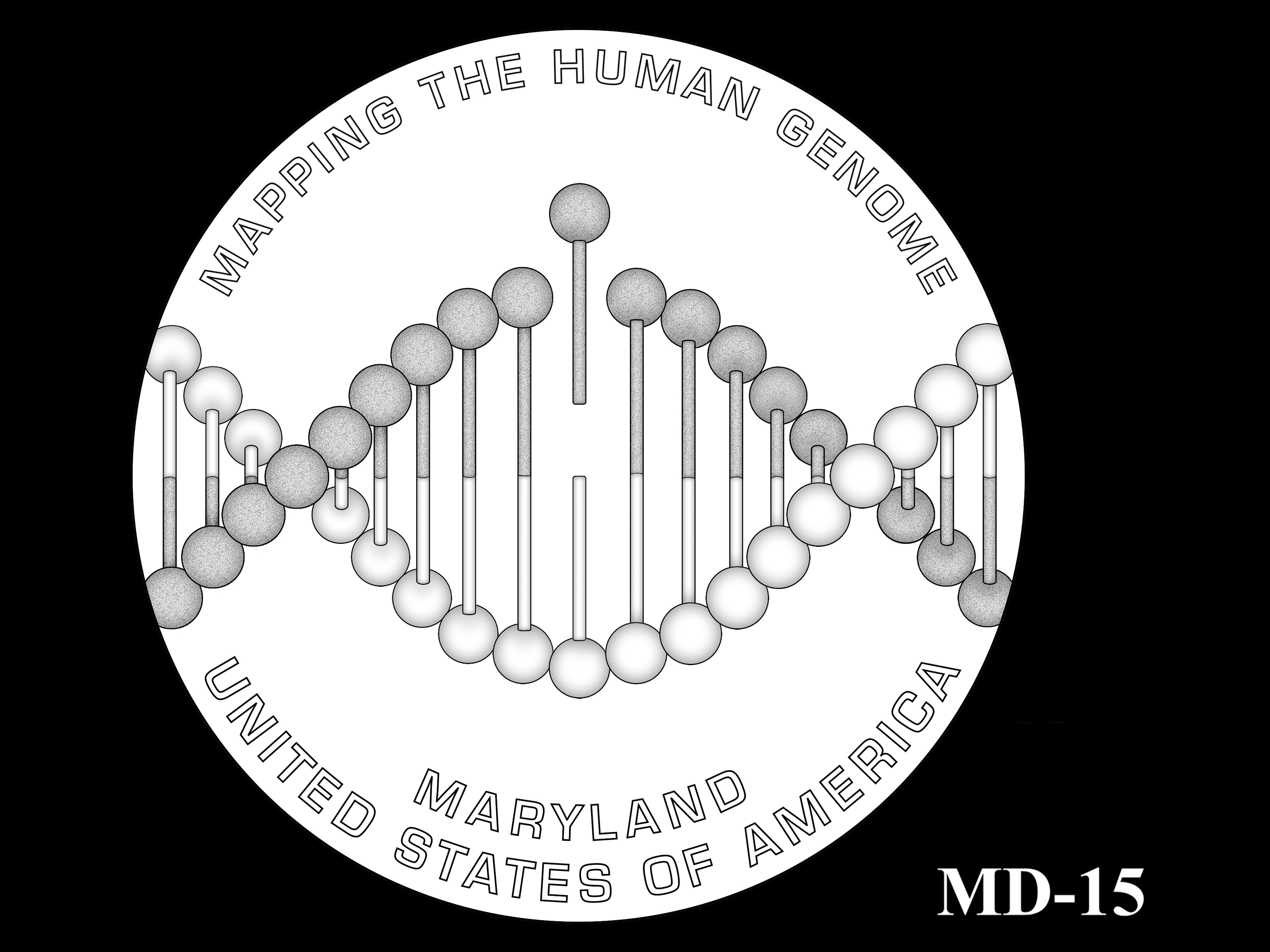 MD-15 -- 2020 American Innovation $1 Coin - Maryland