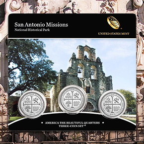 2019 San Anotnio Missions America the Beautiful ATB Quarter press release image