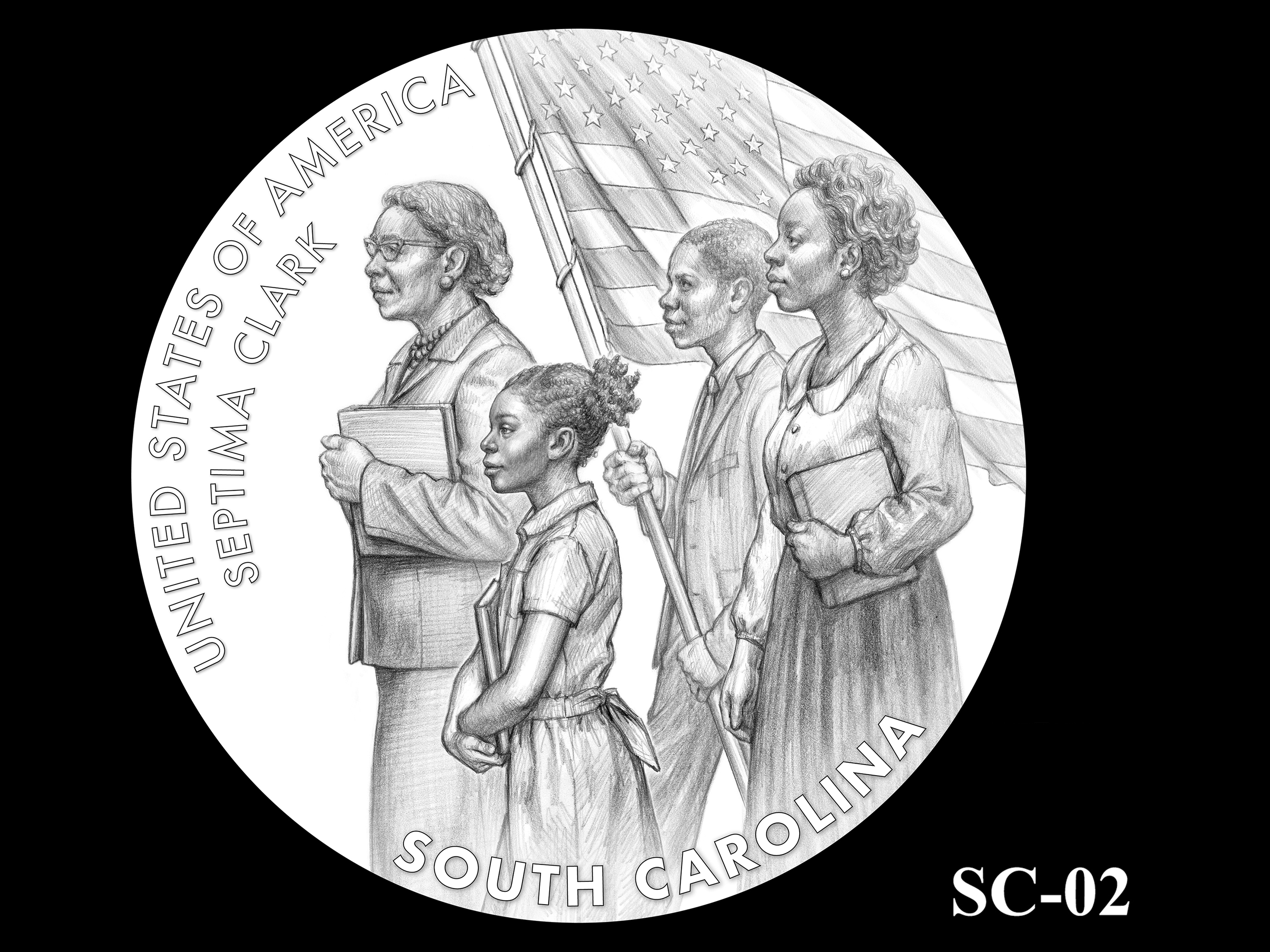 SC-02 -- 2020 American Innovation $1 Coin - South Carolina
