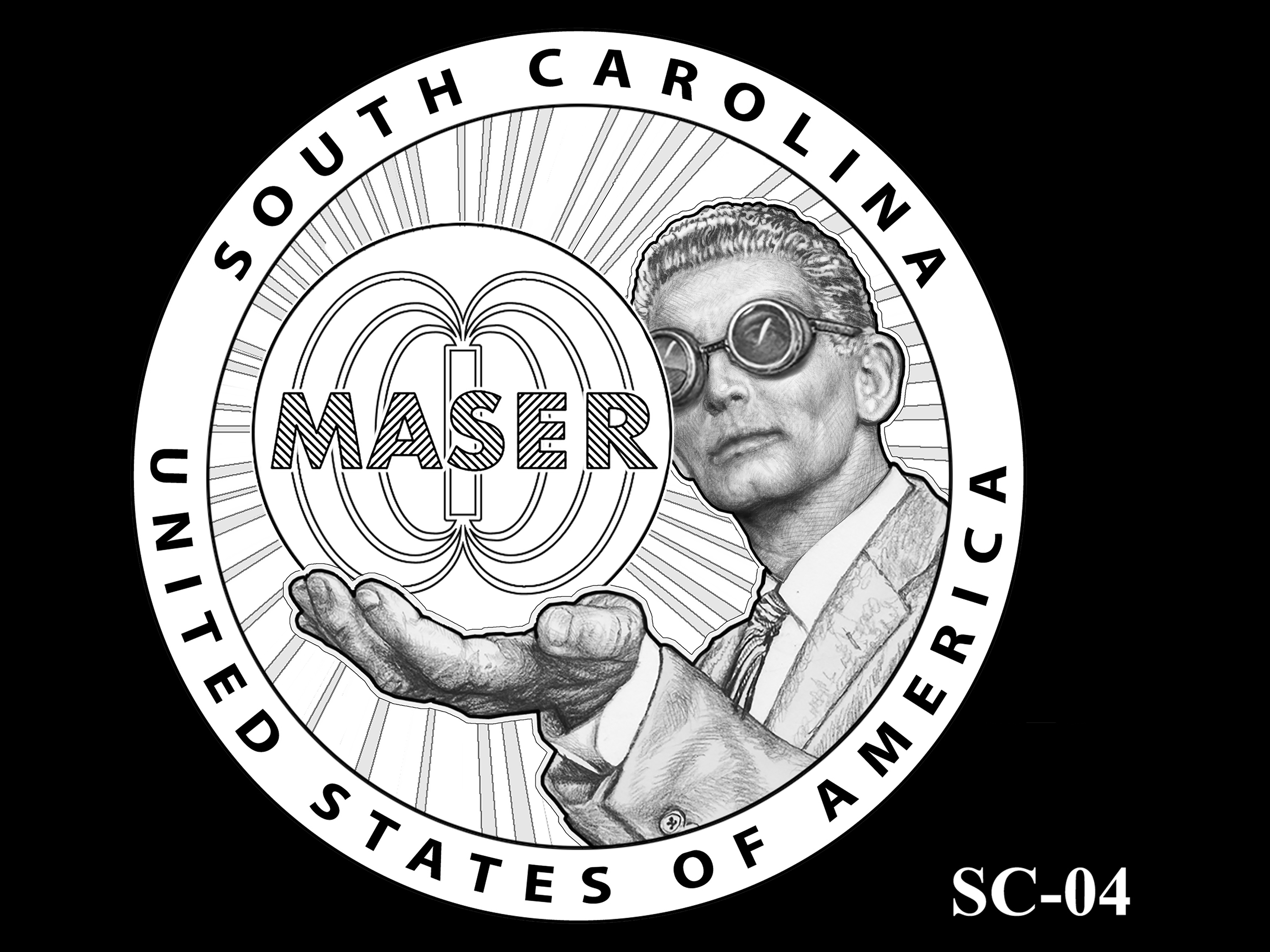 SC-04 -- 2020 American Innovation $1 Coin - South Carolina