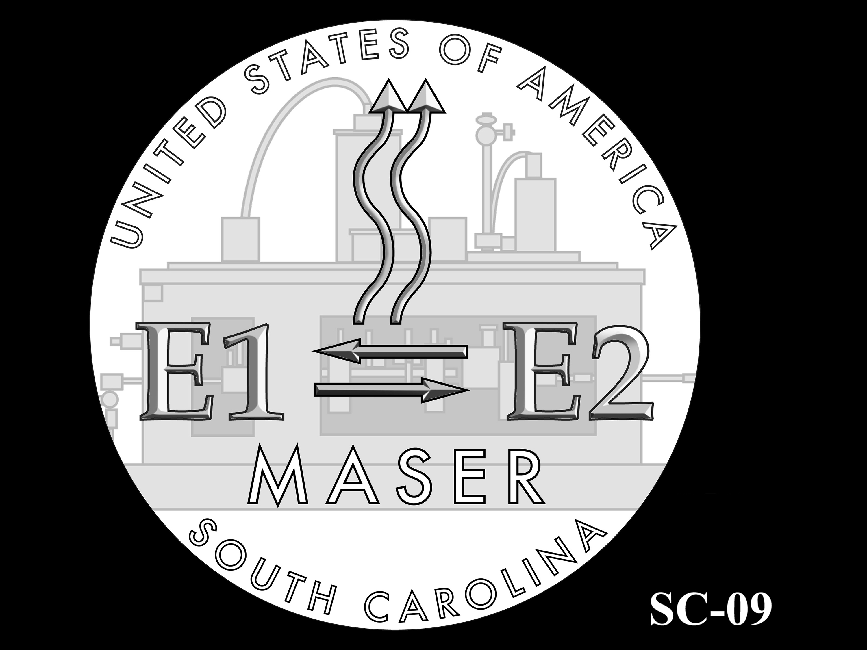SC-09 -- 2020 American Innovation $1 Coin - South Carolina