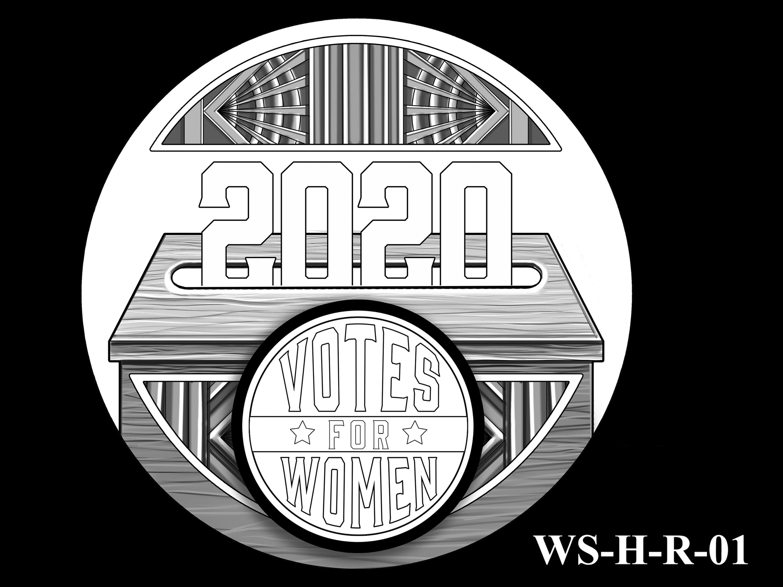 WS-H-R-01 -- Women's Suffrage Centennial Program - Historic Focus  - Reverse