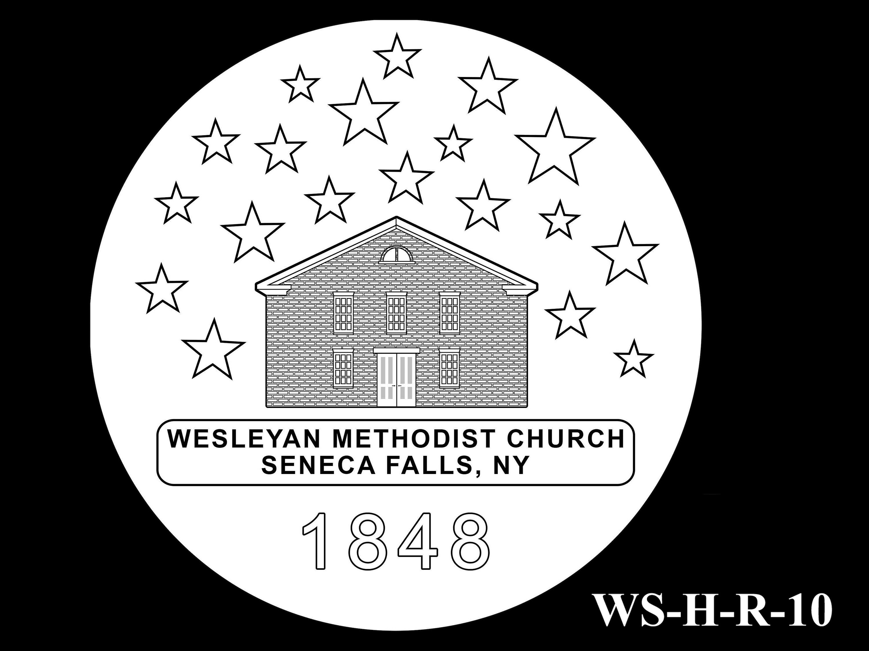 WS-H-R-10 -- Women's Suffrage Centennial Program - Historic Focus  - Reverse