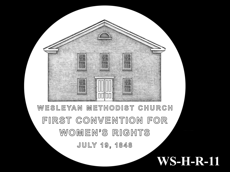 WS-H-R-11 -- Women's Suffrage Centennial Program - Historic Focus  - Reverse